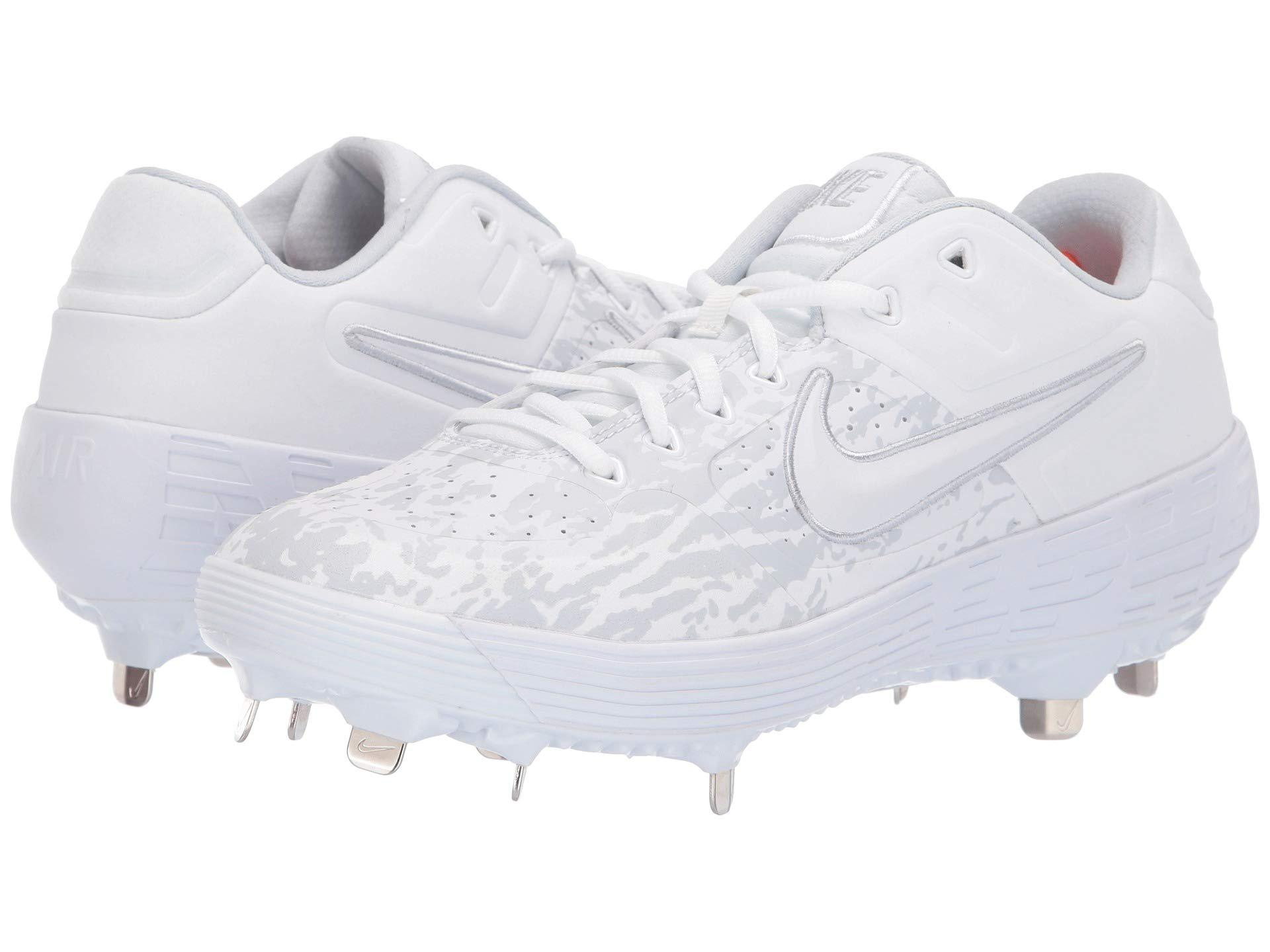 dc39e87e0c34 Nike - Alpha Huarache Elite 2 Low (white white black) Men s Cleated. View  fullscreen