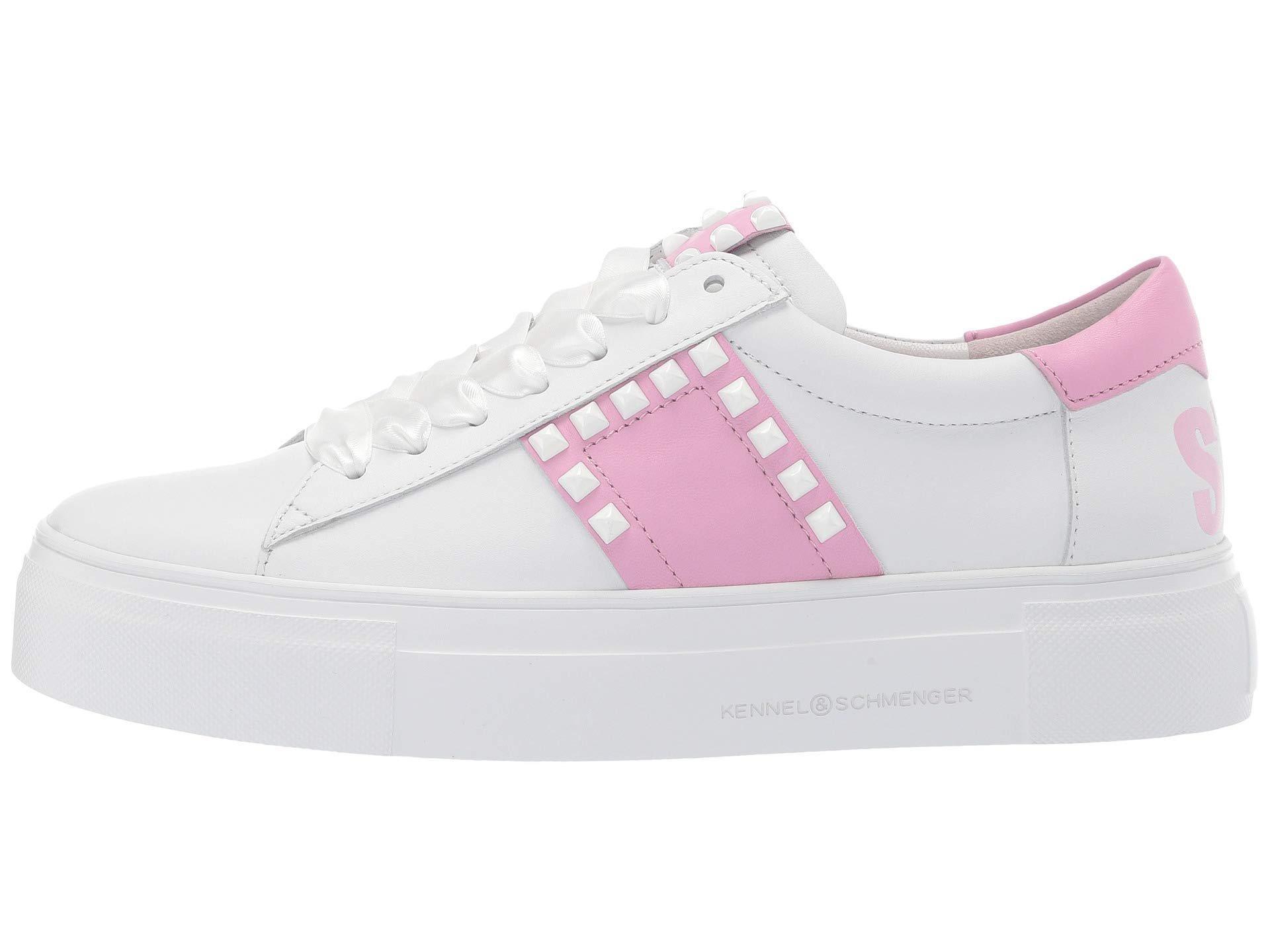 neue Produkte für bestbewertet billig neue Stile Big Stay Cool Sneaker (bianco Calf/pastel Pink Nappa) Women's Shoes