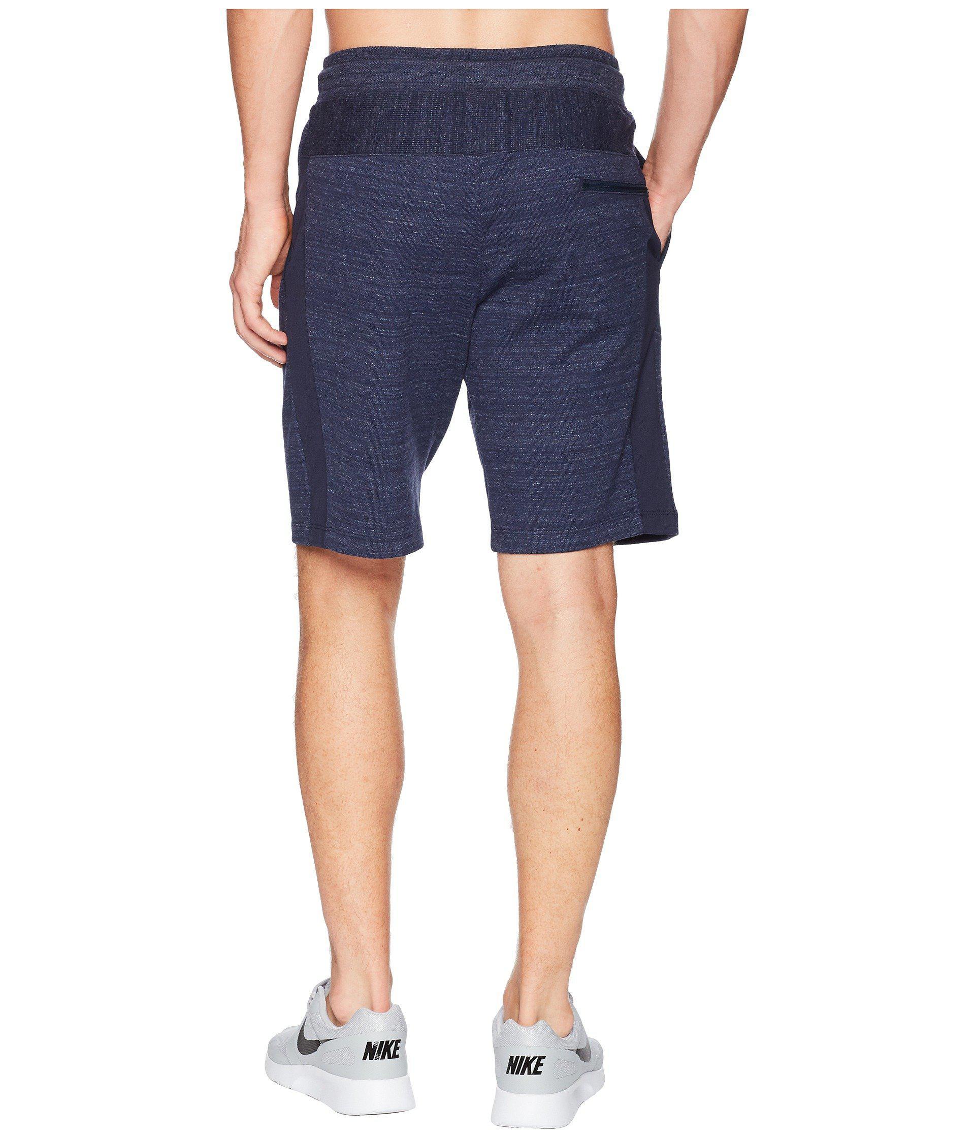 5edd067d936 Nike Blue Nsw Av15 Shorts Knit (white/heather/white/black) Men's Shorts for  men
