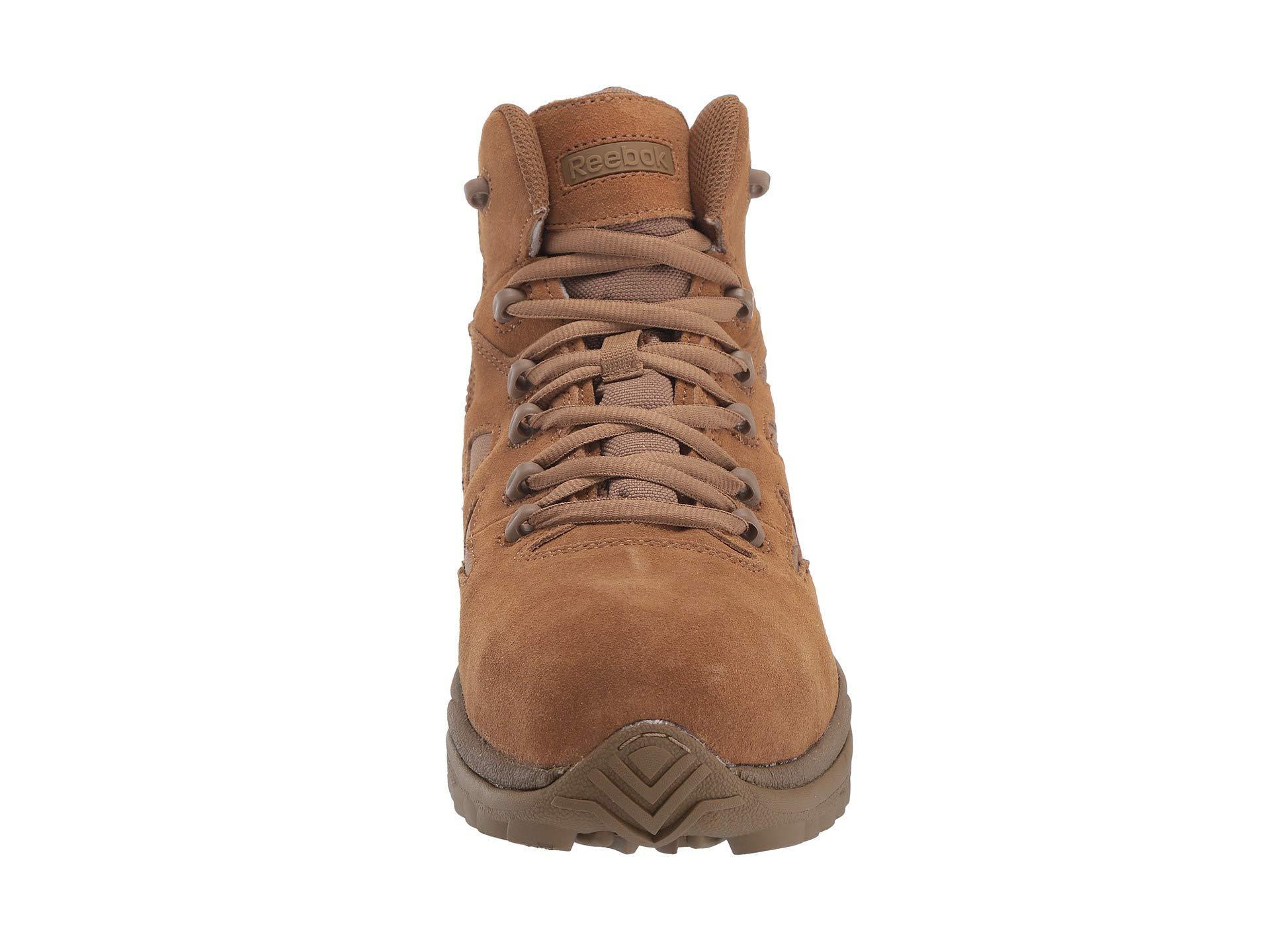 1fccab8f806 Reebok Brown 6 Rapid Response Rb (coyote) Men's Work Boots for men