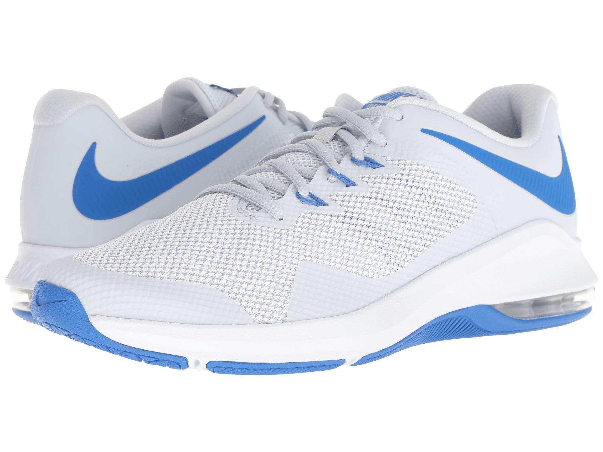 da4bafb88012a Nike Air Max Alpha Trainer (pure Platinum/white/signal Blue) Men's ...
