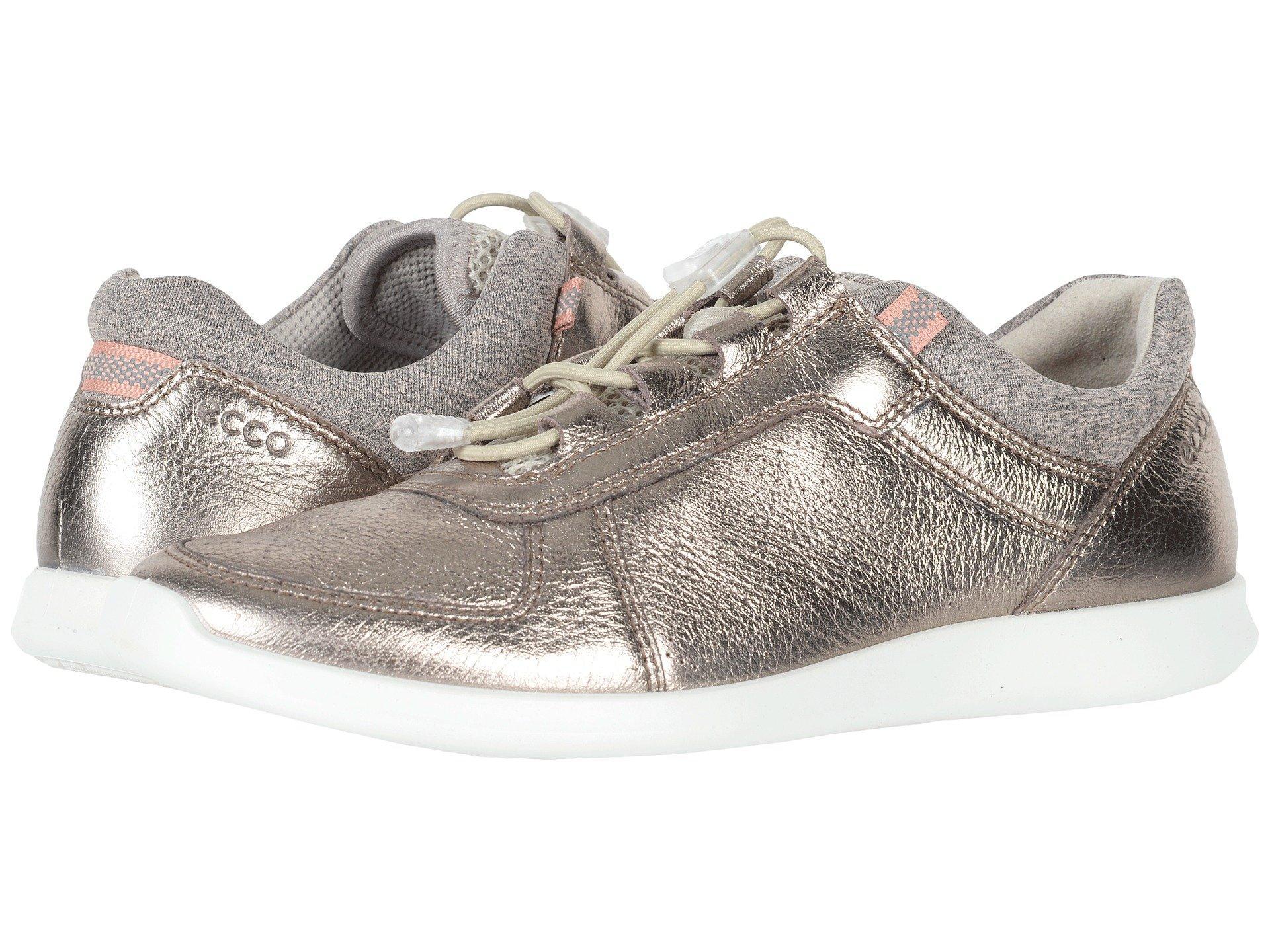 Ecco Leather Sense Toggle in Gray - Lyst