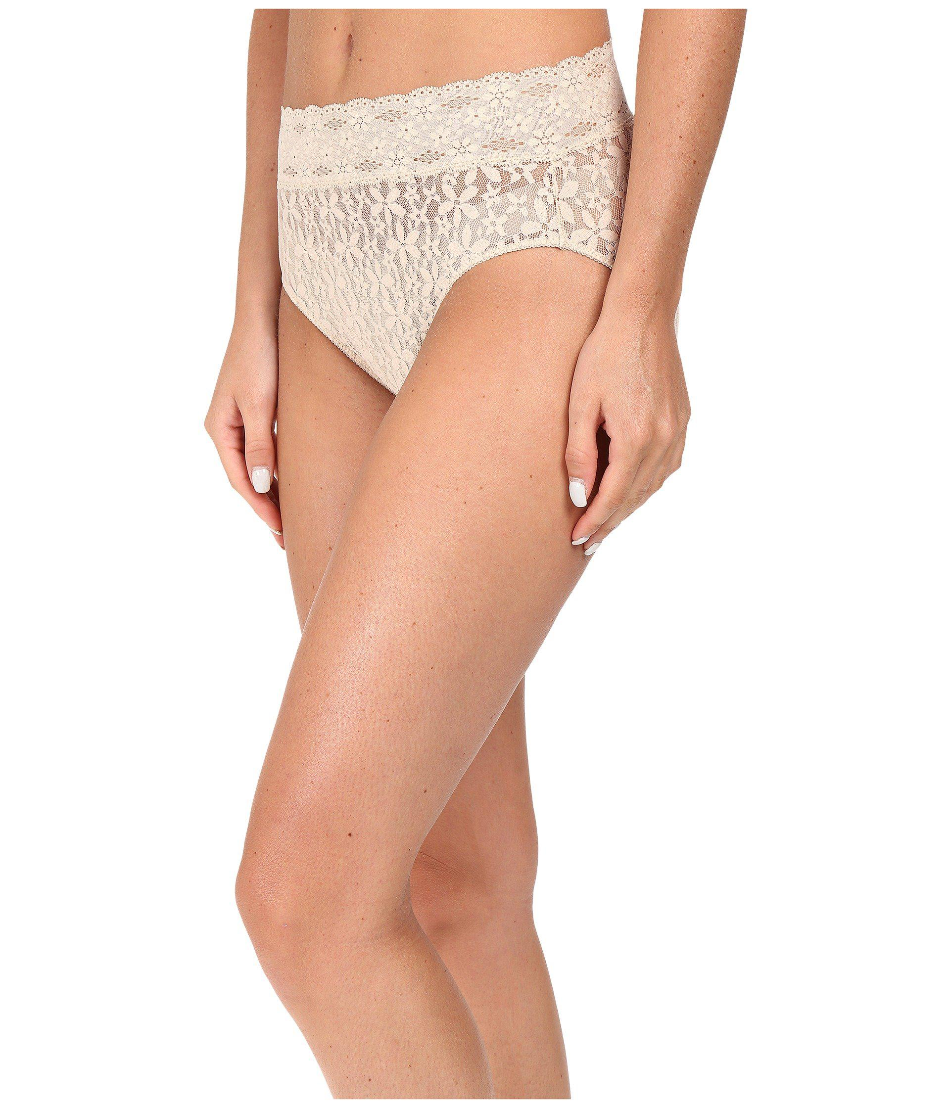 853b5bca1a Lyst - Wacoal Halo Lace Hi-cut Brief (ivory) Women s Underwear