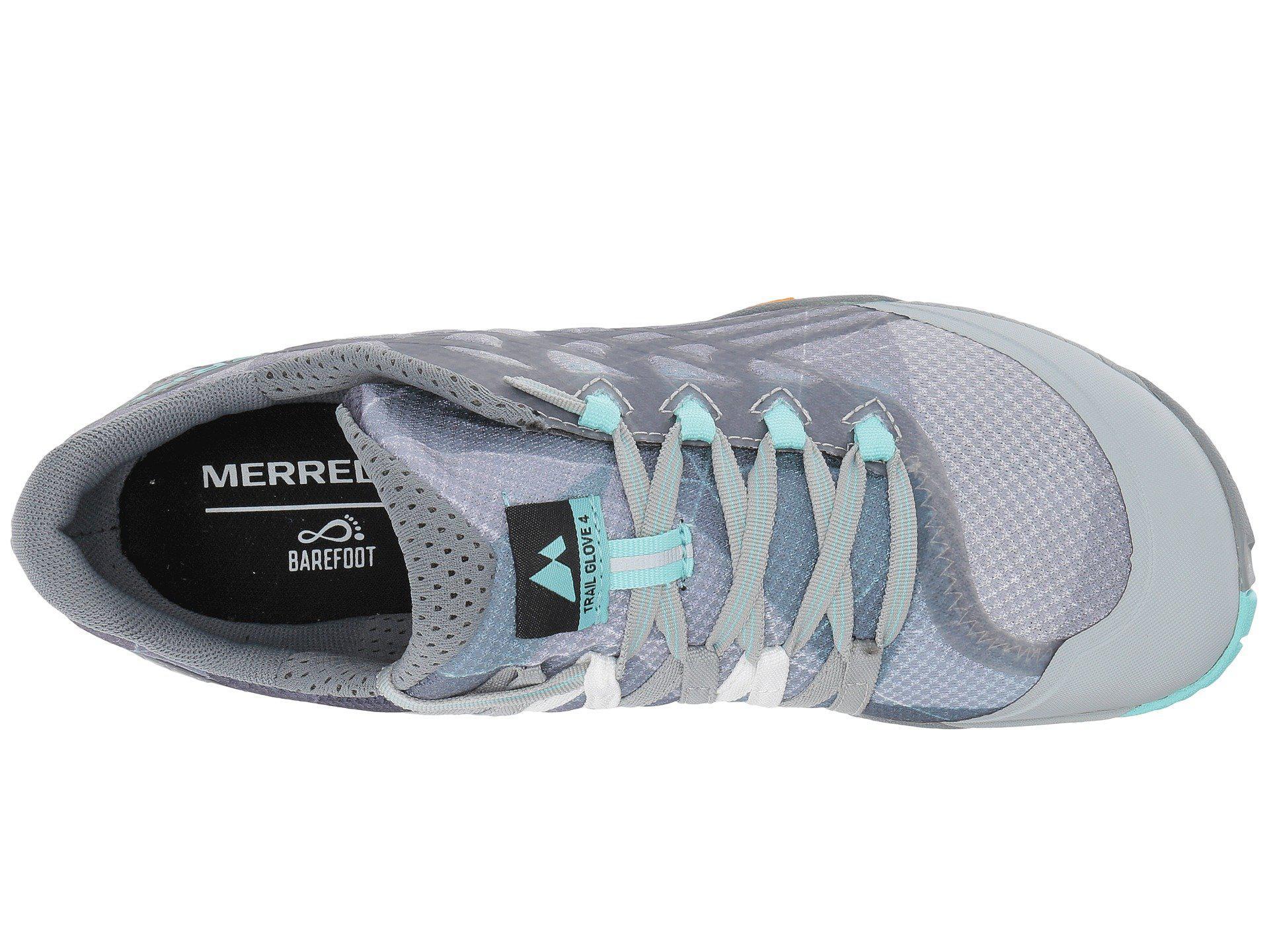 detailed look ba605 37893 Women's Blue Glove 4 Trail Runner