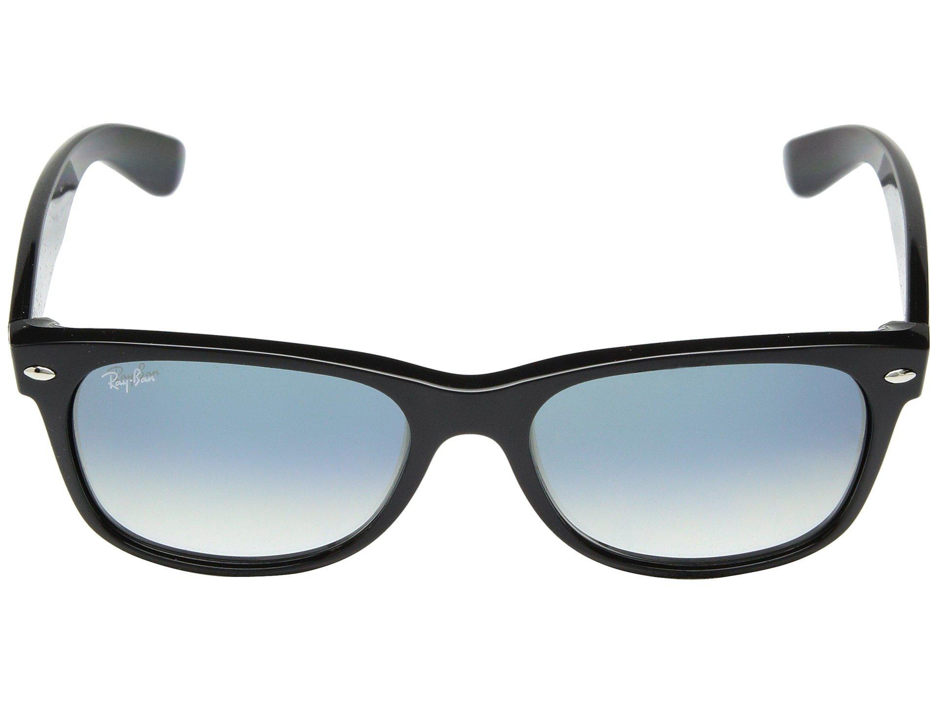 800e72df44d Ray-Ban - Black Rb2132 New Wayfarer 52mm (top Brushed Gunmetal transparent).  View fullscreen