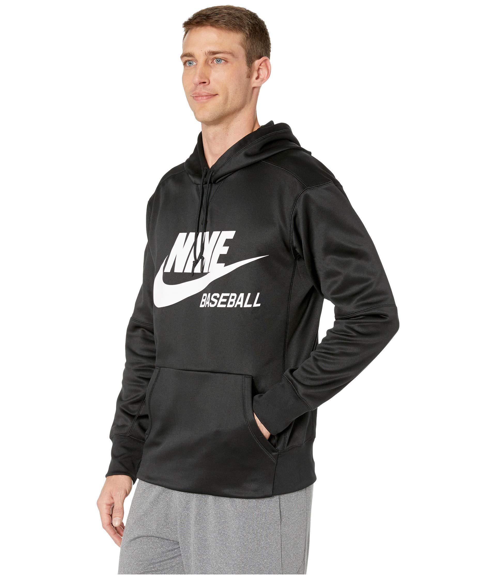 9a2ab143029 Lyst - Nike Baseball Hoodie (dark Grey Heather black) Men s Sweatshirt in  Black for Men