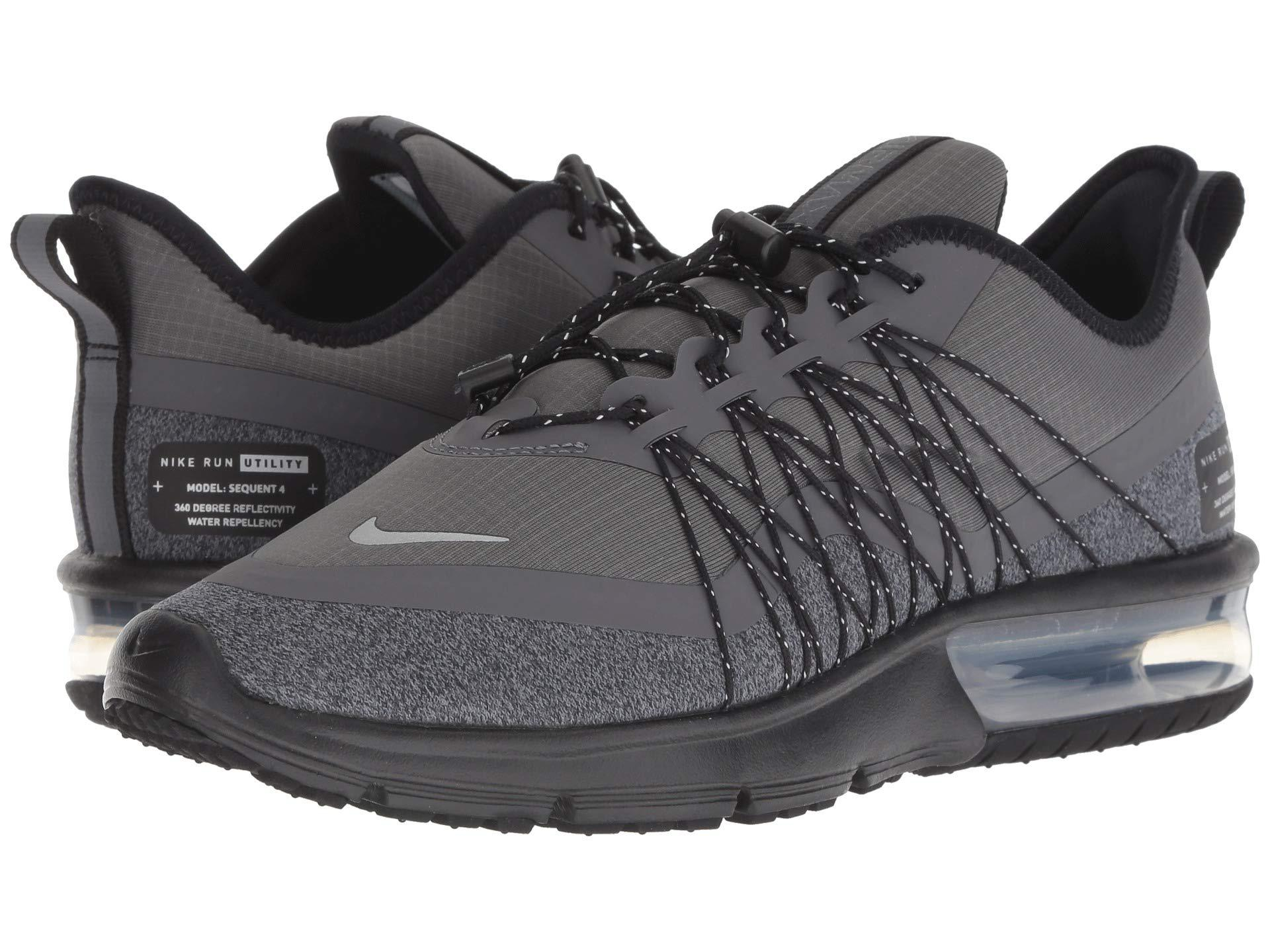 cheap for discount super specials wholesale outlet Air Max Sequent 4 Shield (dark Grey/metallic Silver/black) Women's Running  Shoes