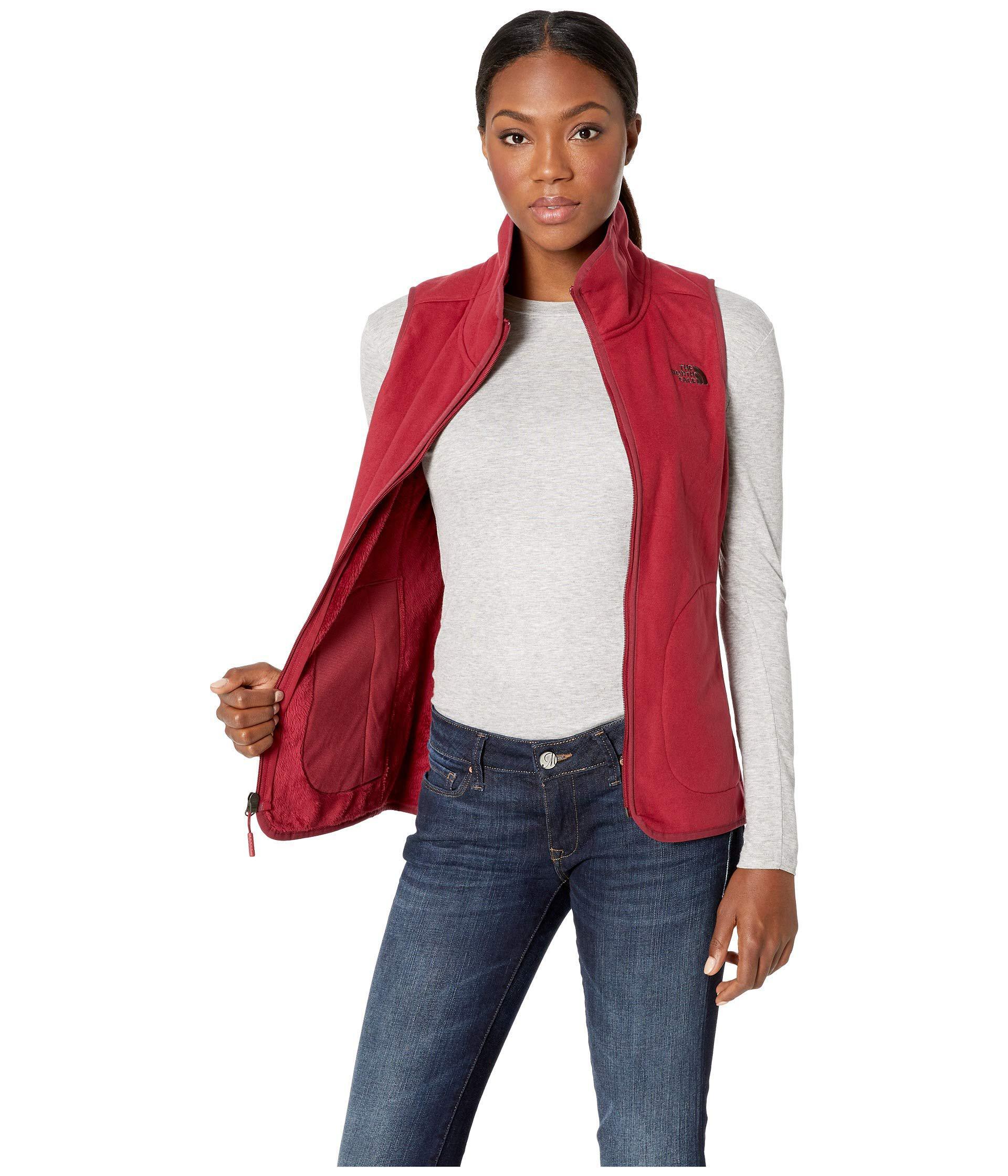 e610a5301e8c ... Red Mosswood Vest (tnf Black) Women s Vest - Lyst. View fullscreen