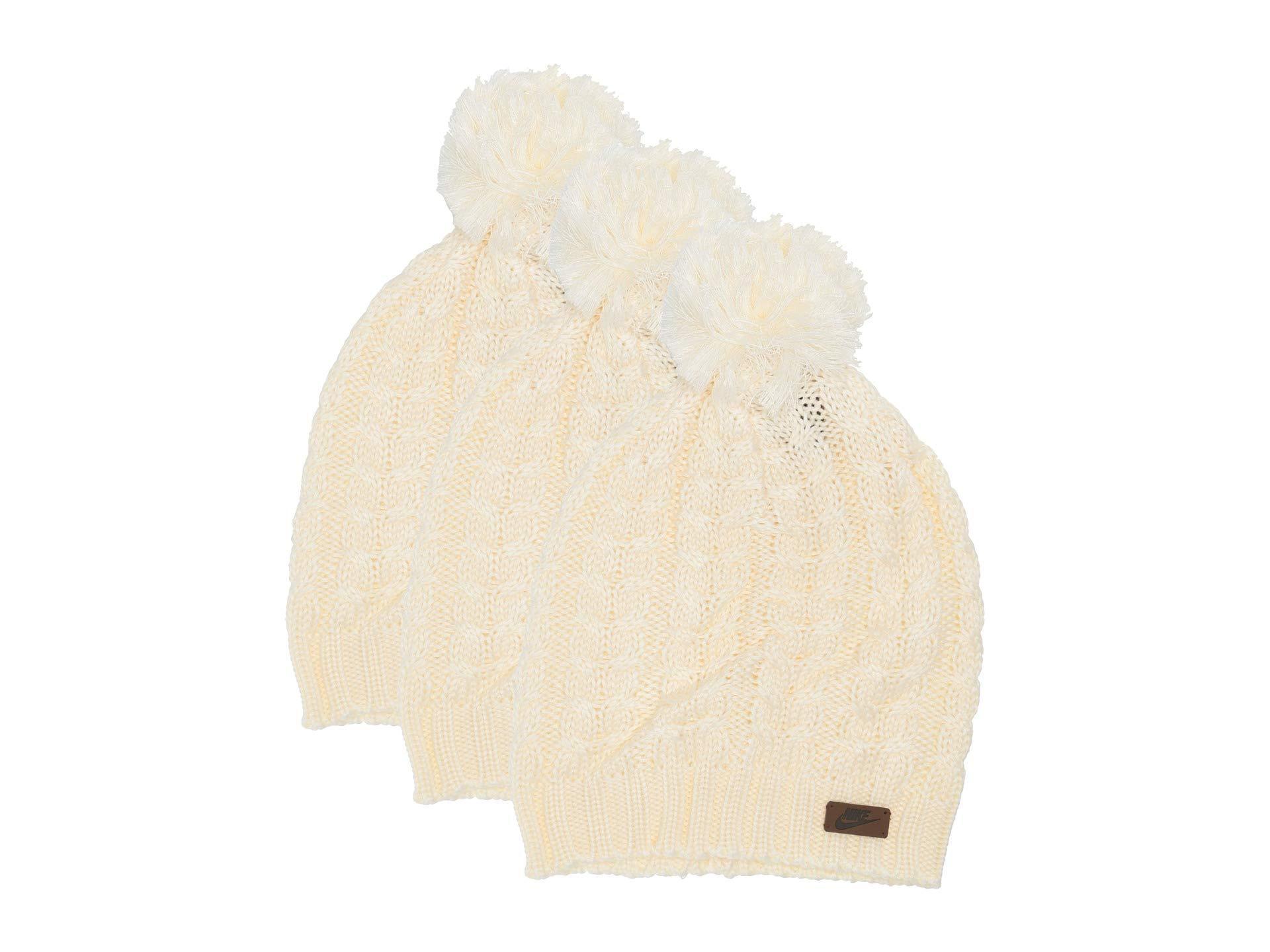 MEKO Beanie Women Wool Cap White