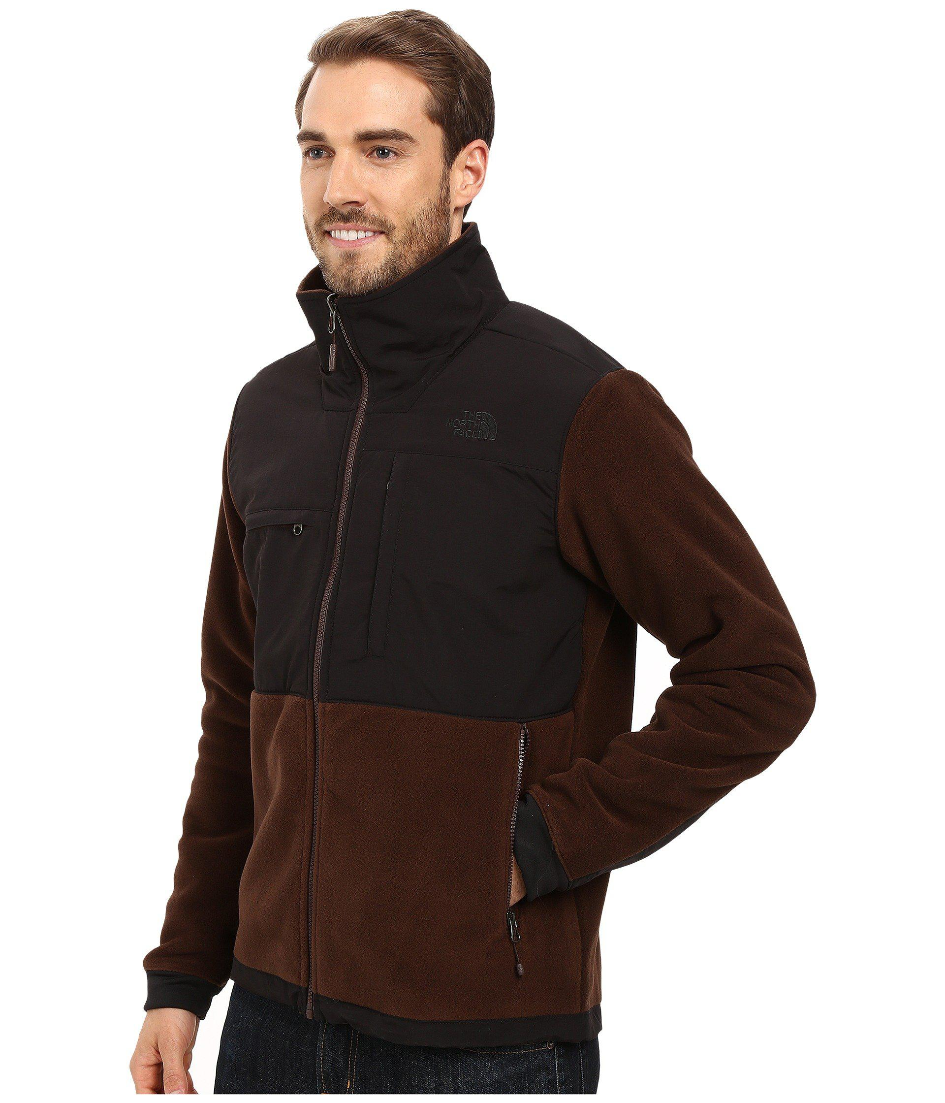 02b3ae01d The North Face Brown Denali 2 Jacket for men
