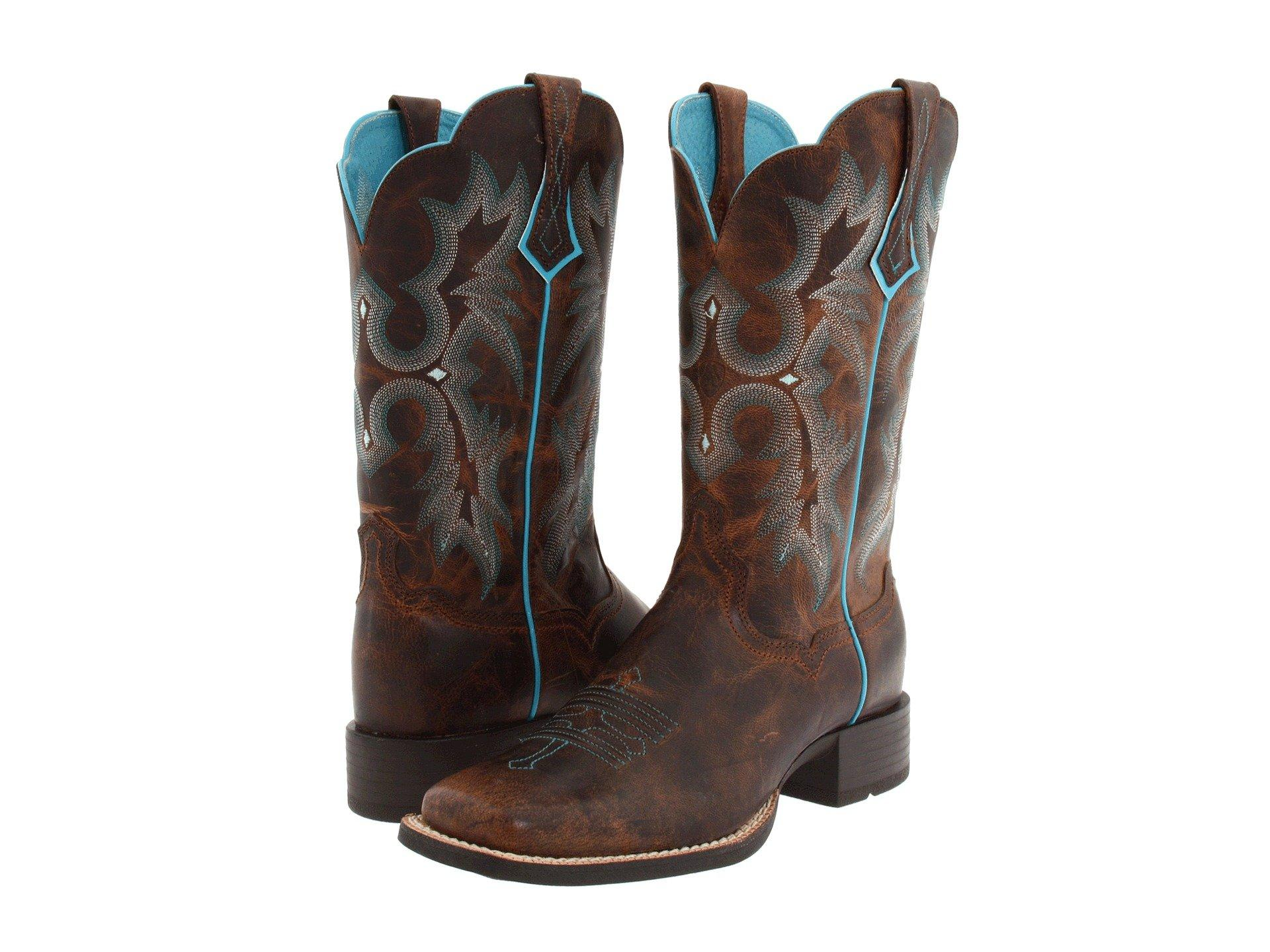 21e7412793 Lyst - Ariat Tombstone (sassy Brown) Cowboy Boots in Brown ariat tombstone  women s boots