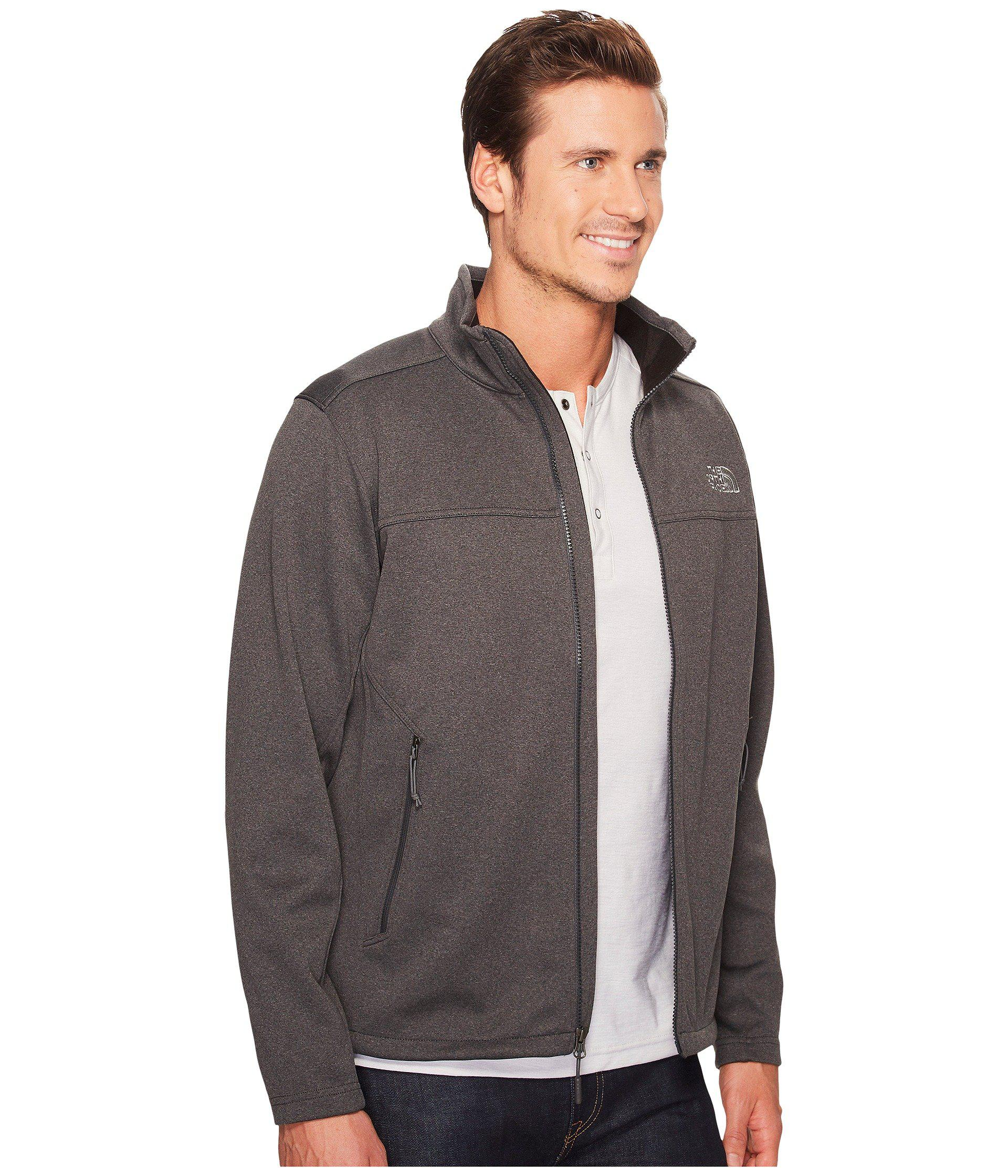 d389c8be3a5d Lyst - The North Face Apex Canyonwall Jacket (tnf Dark Grey Heather tnf  Dark Grey Heather) Men s Coat in Gray for Men