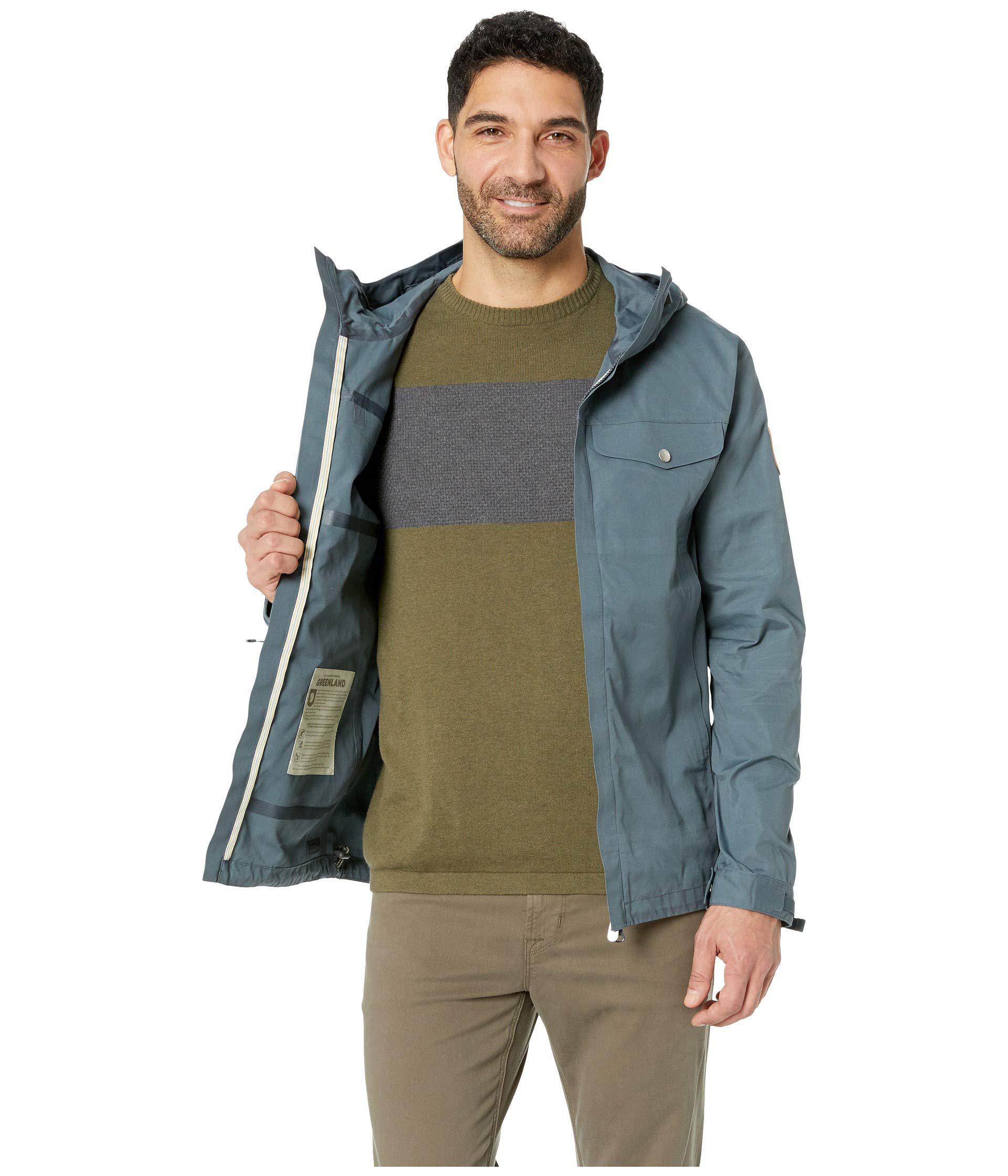 8639247bf Fjallraven Blue Greenland Half Century Jacket (dusk) Men's Coat for men