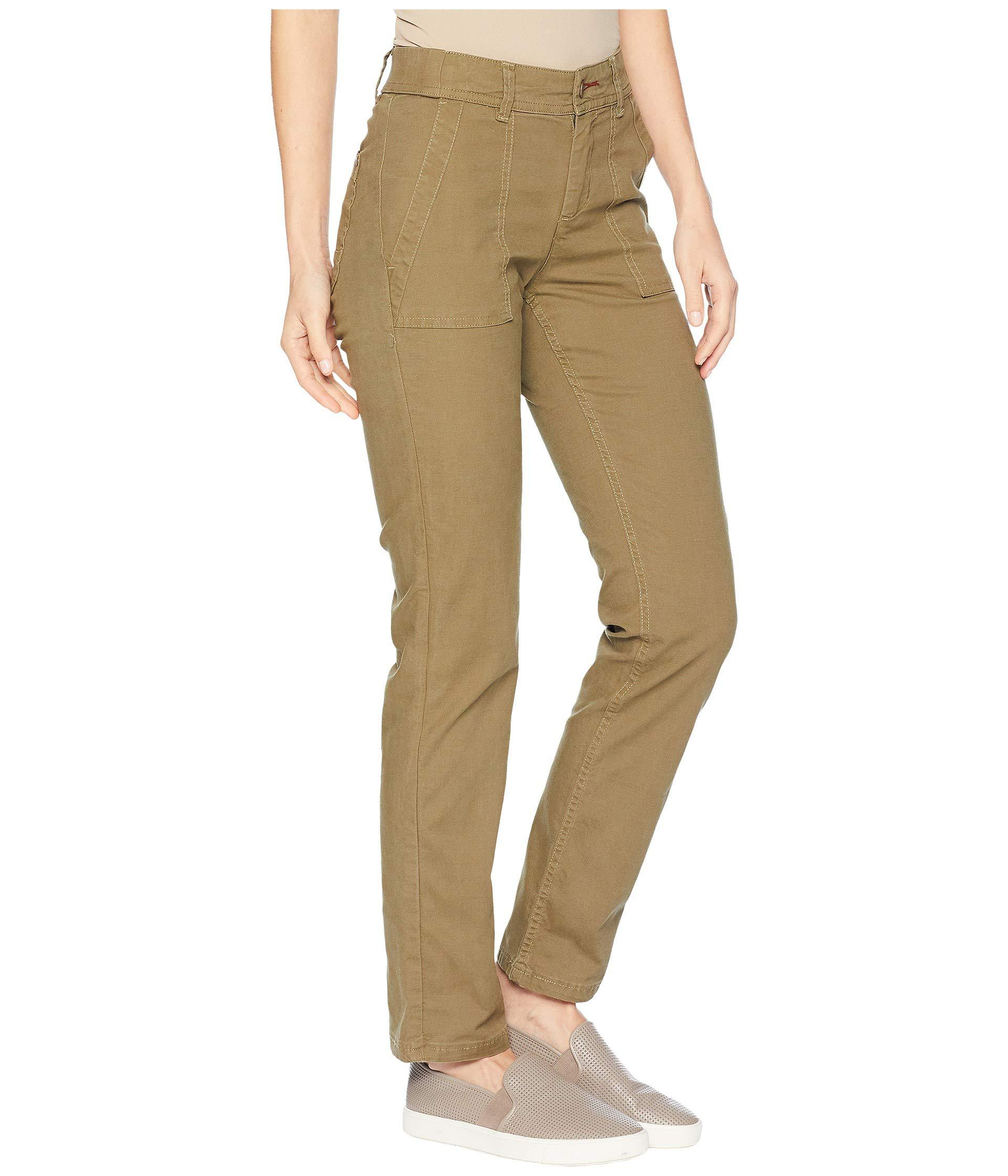 Toad&Co Multicolor Earthworks Pants (rustic Olive) Women's Clothing
