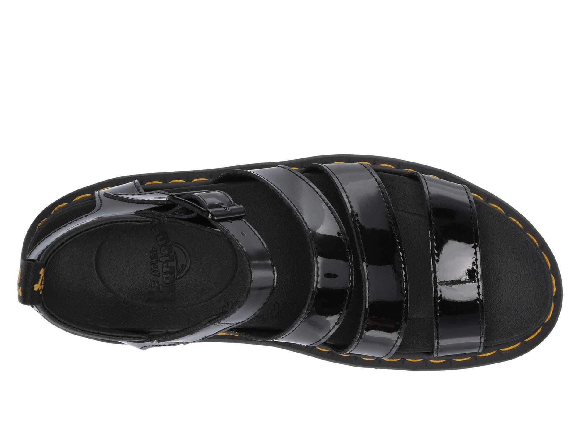 c2066d820d3091 Lyst - Dr. Martens Blaire (black Brando) Women s Sandals in Black