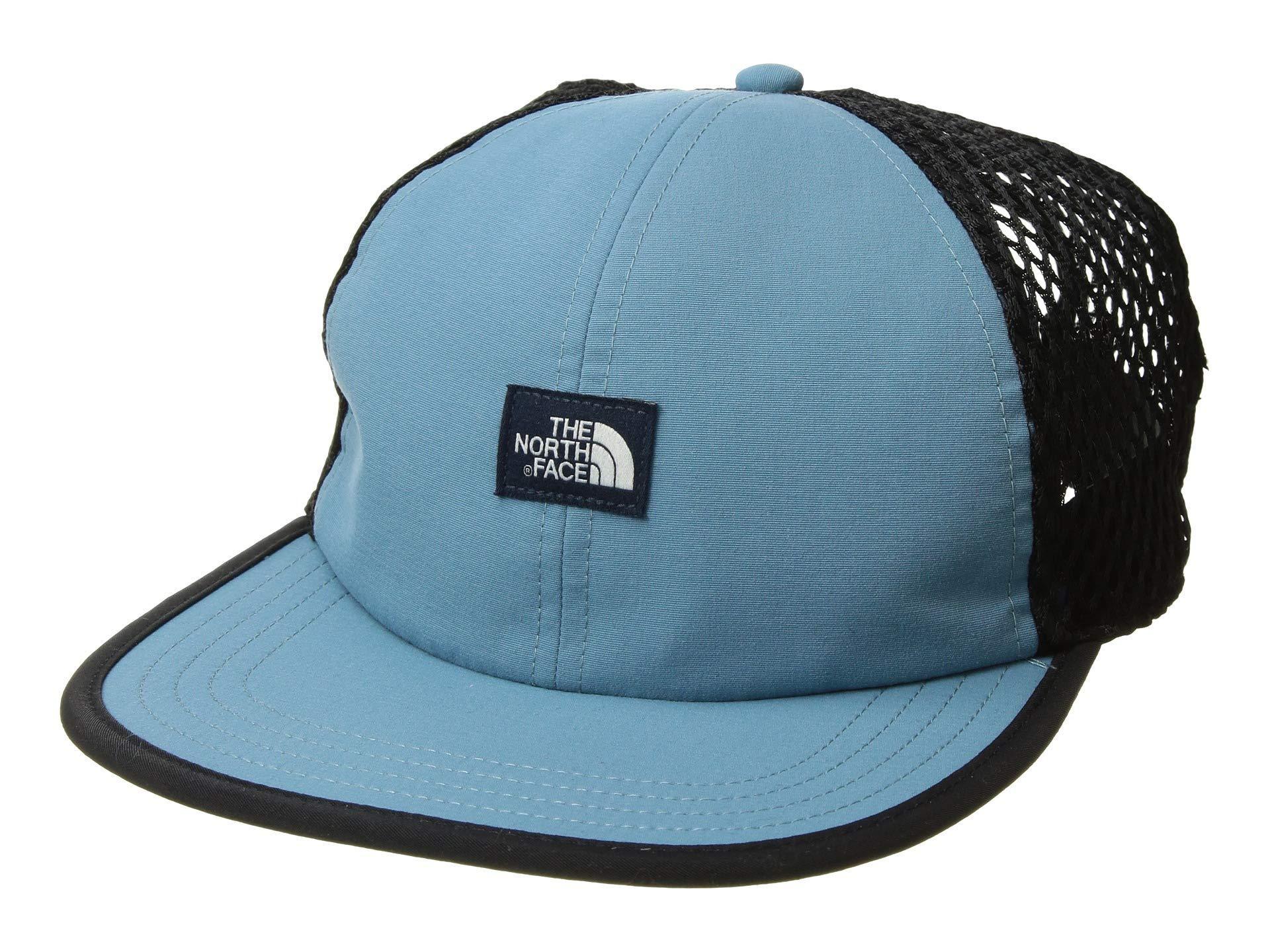 4a2cb4225eb Lyst - The North Face Class V Trucker Hat (tnf Black) Caps in Blue ...