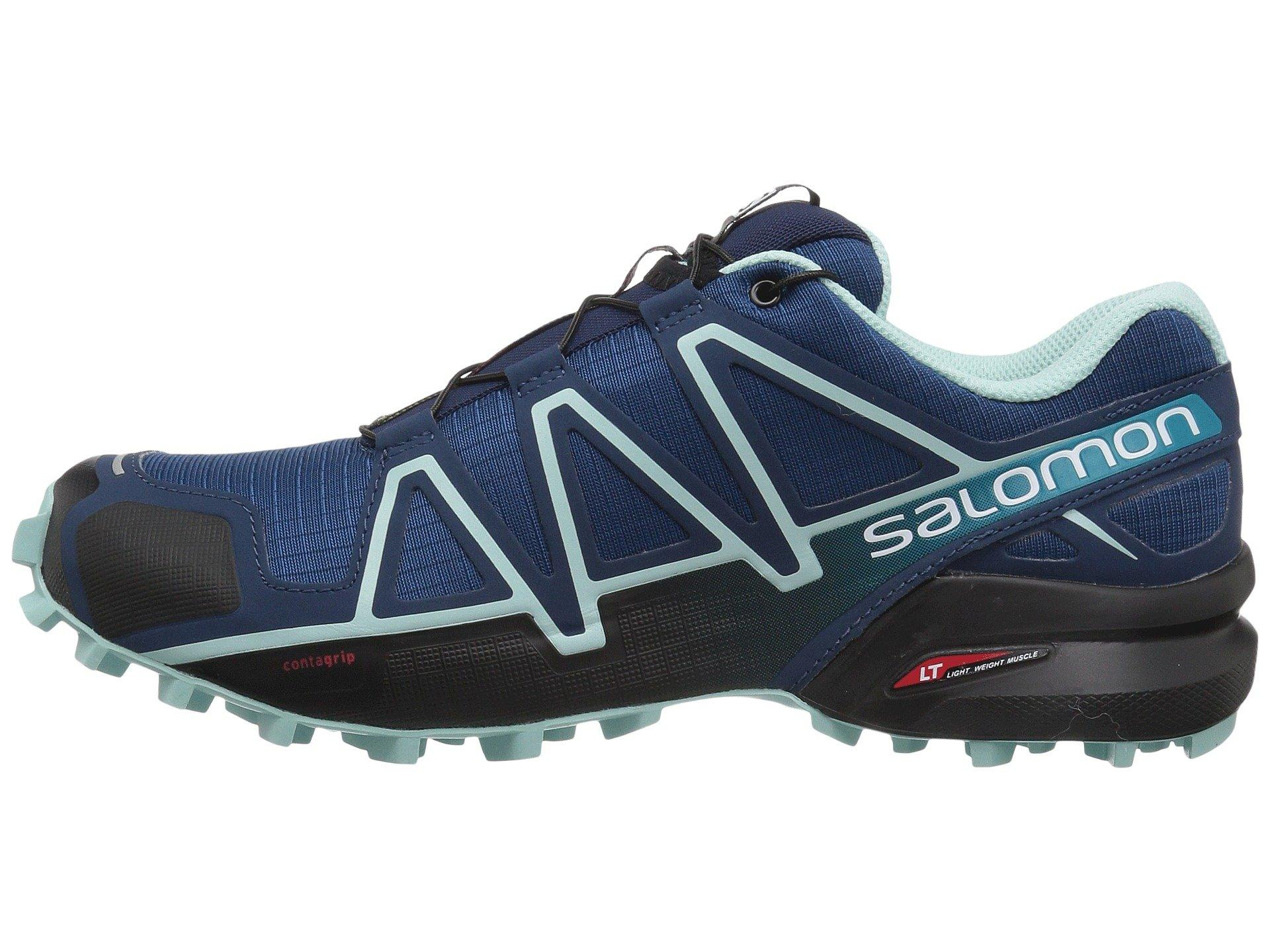 salomon speedcross 4 bluestone blue