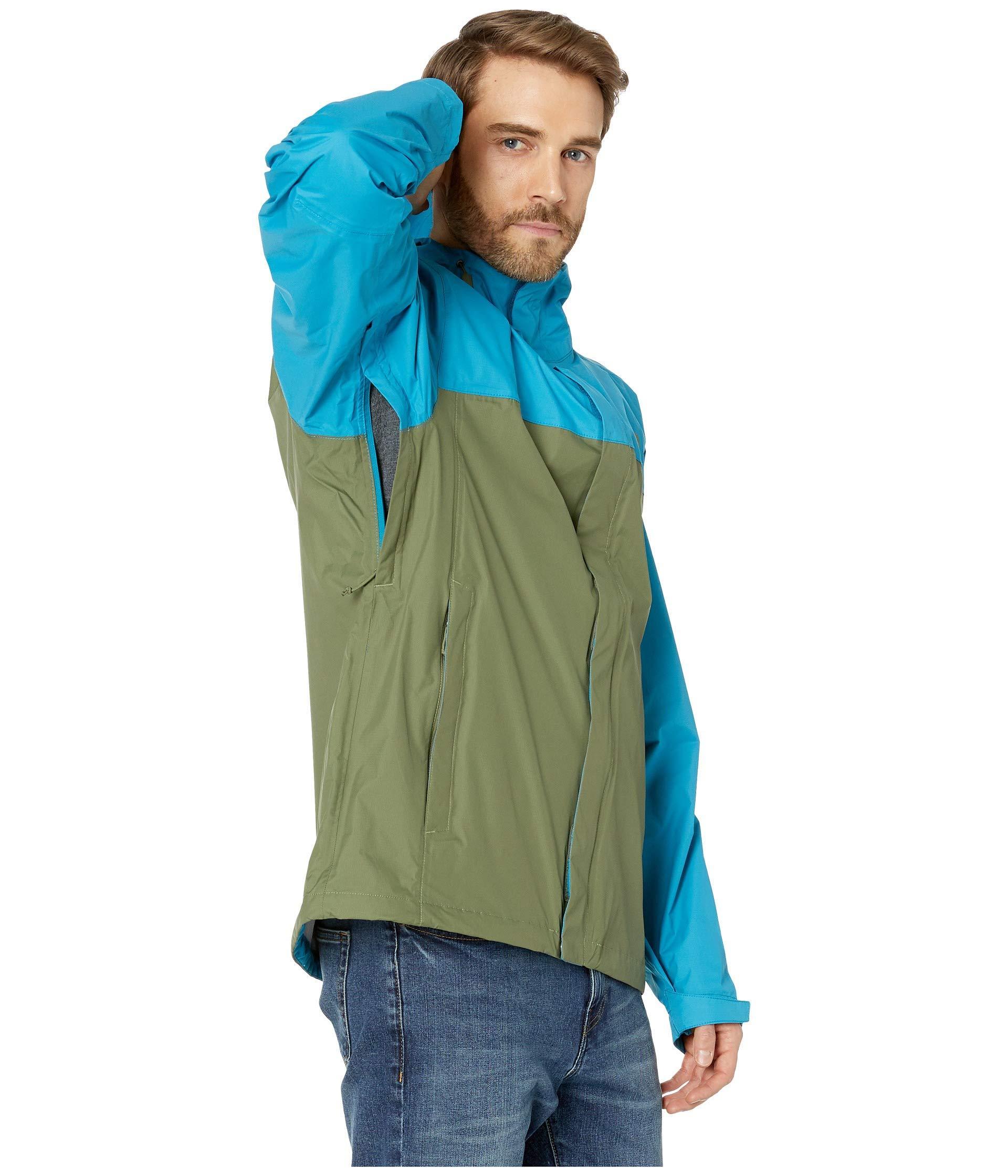 b1ee79c1b The North Face Blue Venture 2 Jacket (zinnia Orange/asphalt Grey) Men's  Coat for men