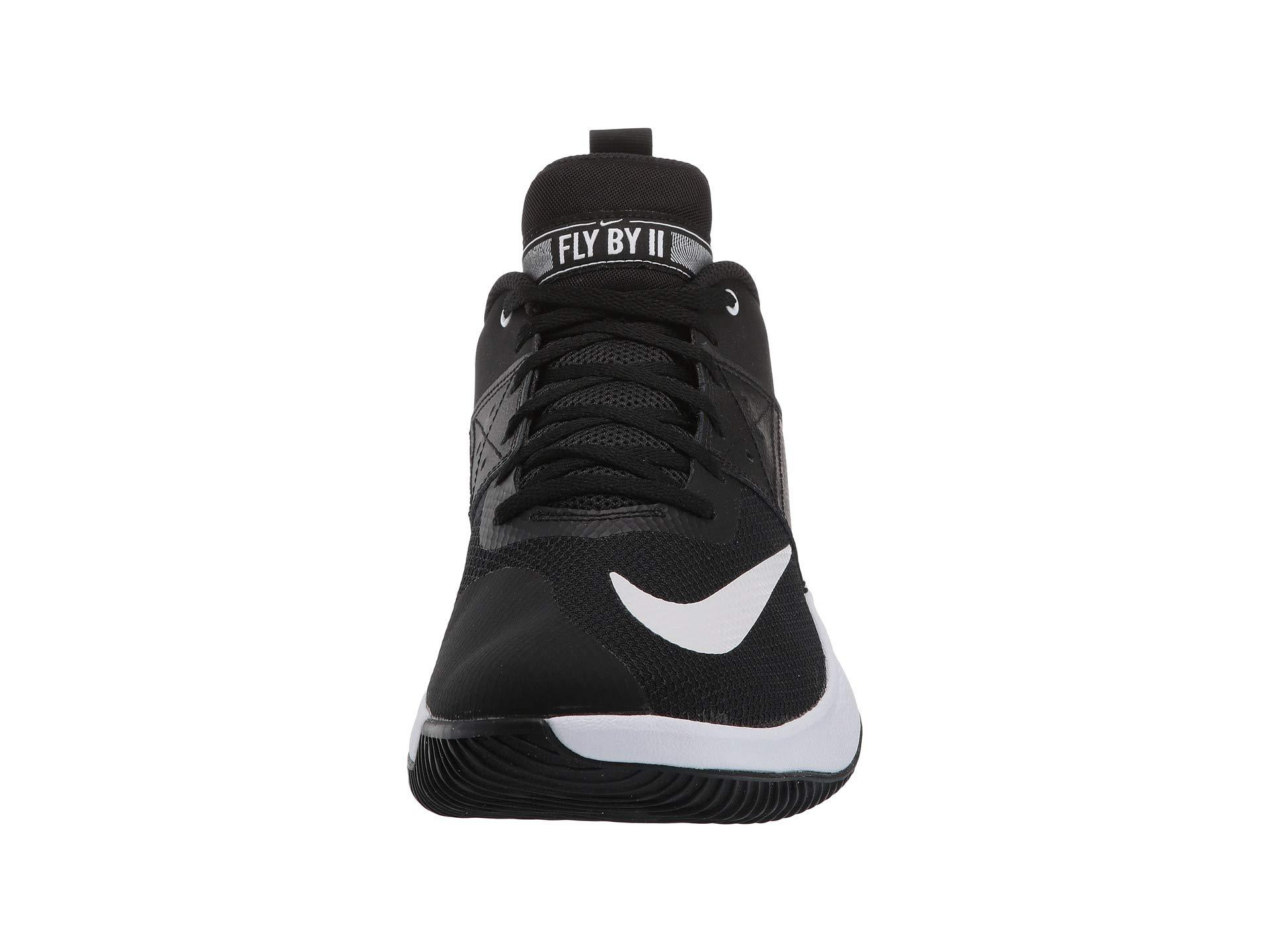 Fly.by Low Ii (black/white) Men's Basketball Shoes