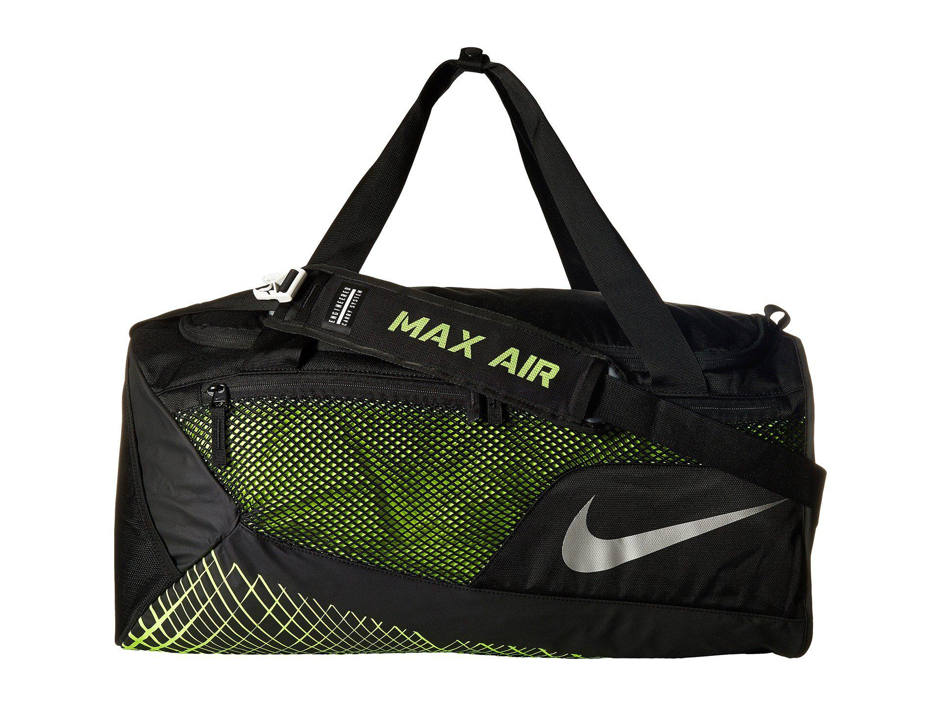 Lyst - Nike Vapor Max Air Training Medium Duffel Bag (black volt ... 9233137008357