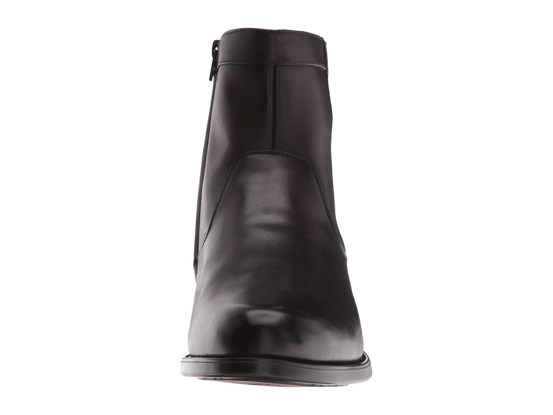 e0d3aba18d0 Florsheim Midtown Plain Toe Zip Boot (brown Smooth) Men's Dress Zip Boots  for men