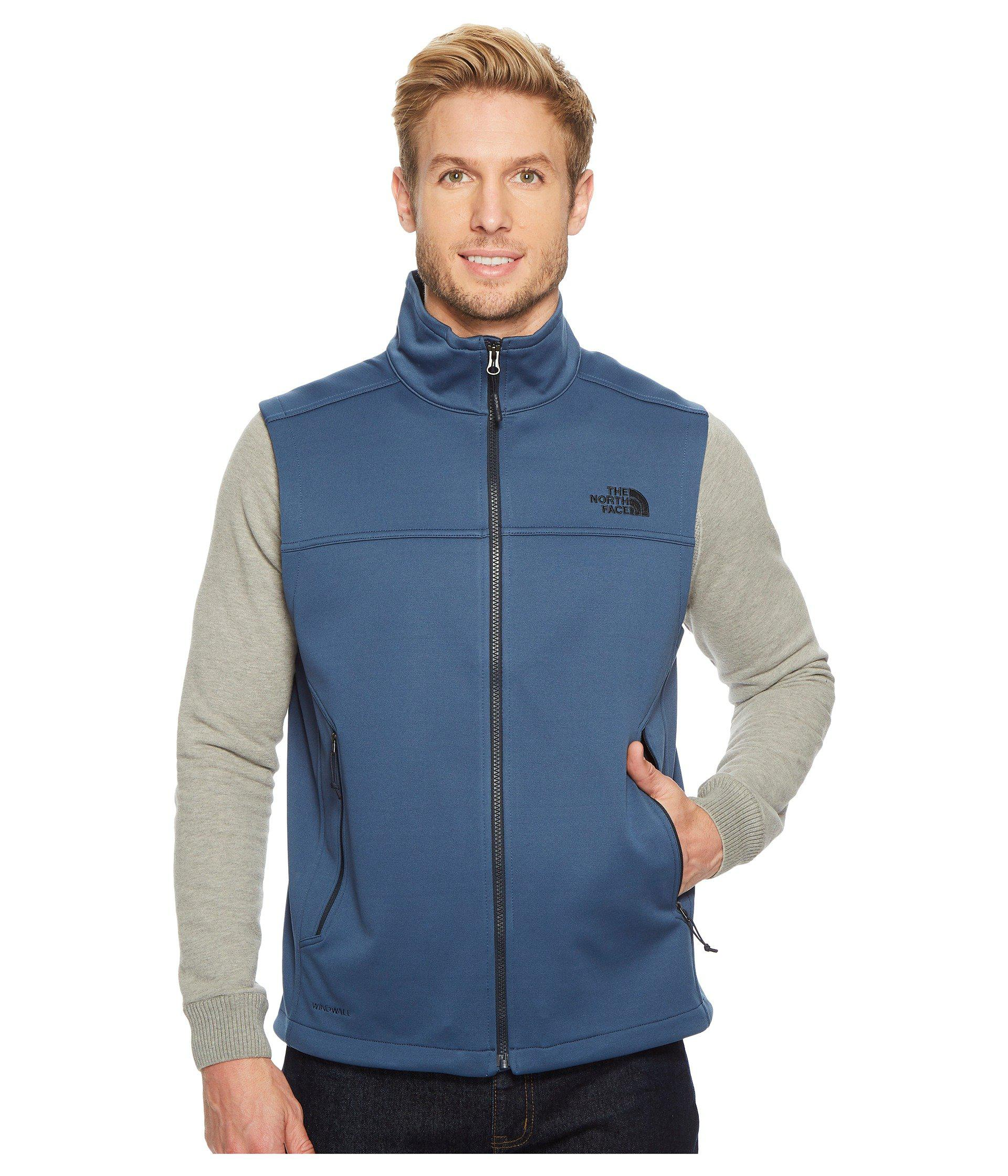 bdb5ed300f9 ... low price lyst the north face apex canyonwall vest tnf dark grey  heather fdd19 6fb6c