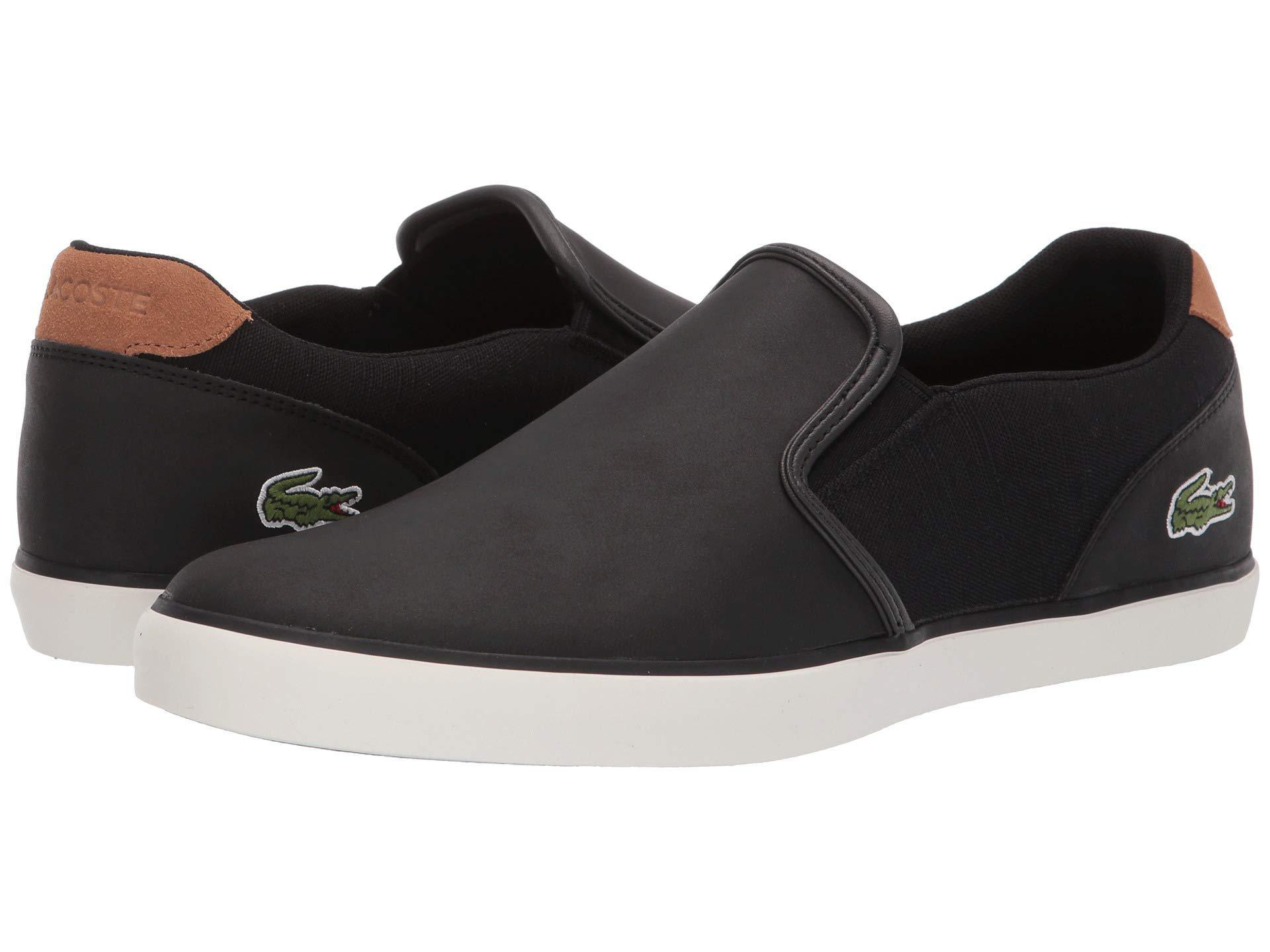 0708f831b8a2d Lyst - Lacoste Jouer Slip 119 2 (navy light Brown) Men s Shoes in ...