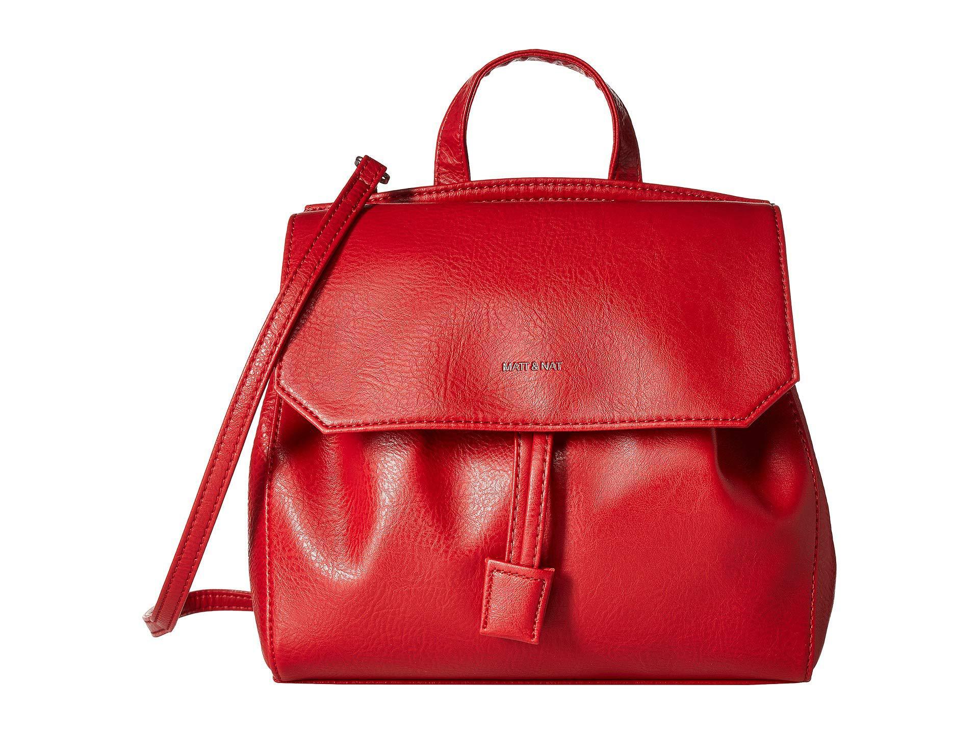 2604b64c93fc Lyst - Matt   Nat Dwell Mulan (black) Handbags in Red