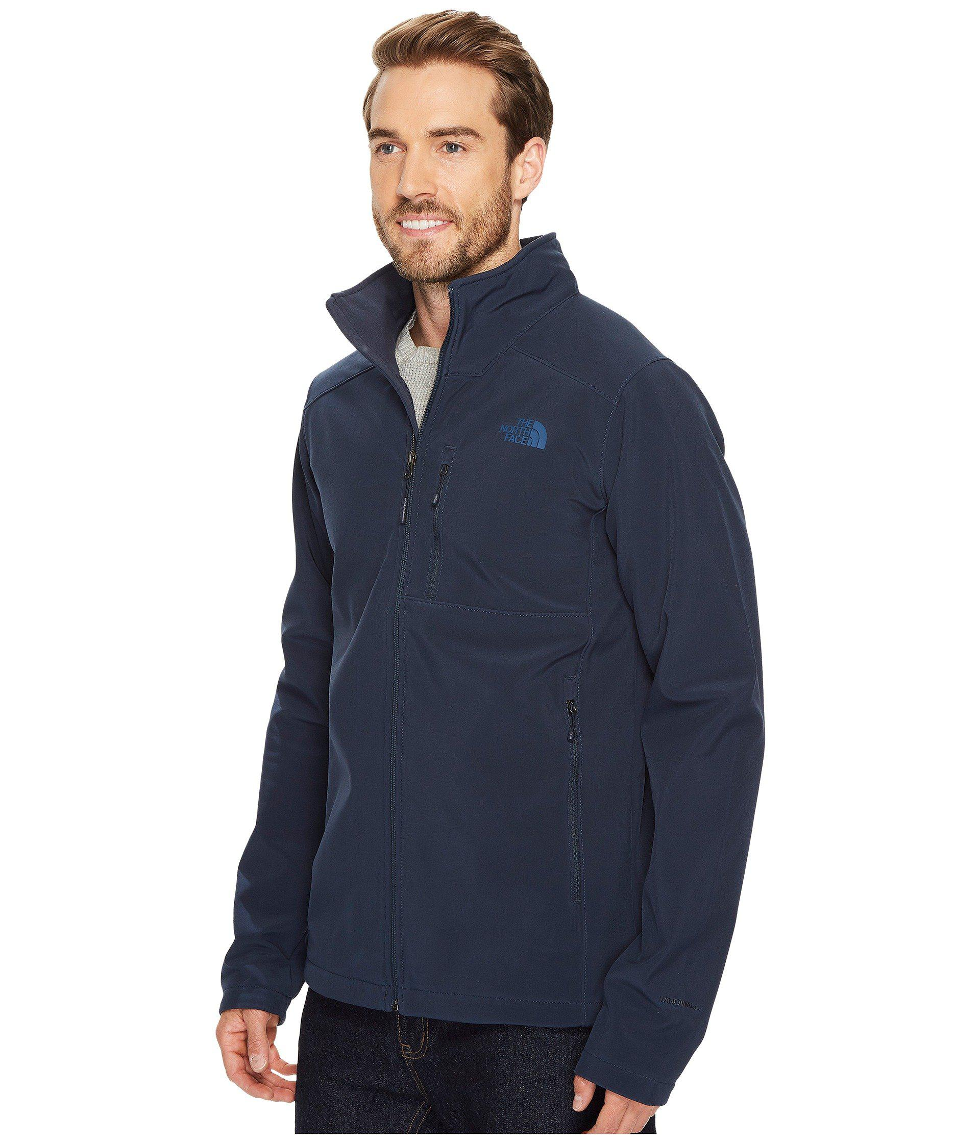 e2971a9249 Lyst - The North Face Apex Bionic 2 Jacket - Tall (tnf Medium Grey Heather  tnf Medium Grey Heather) Men s Coat in Blue for Men