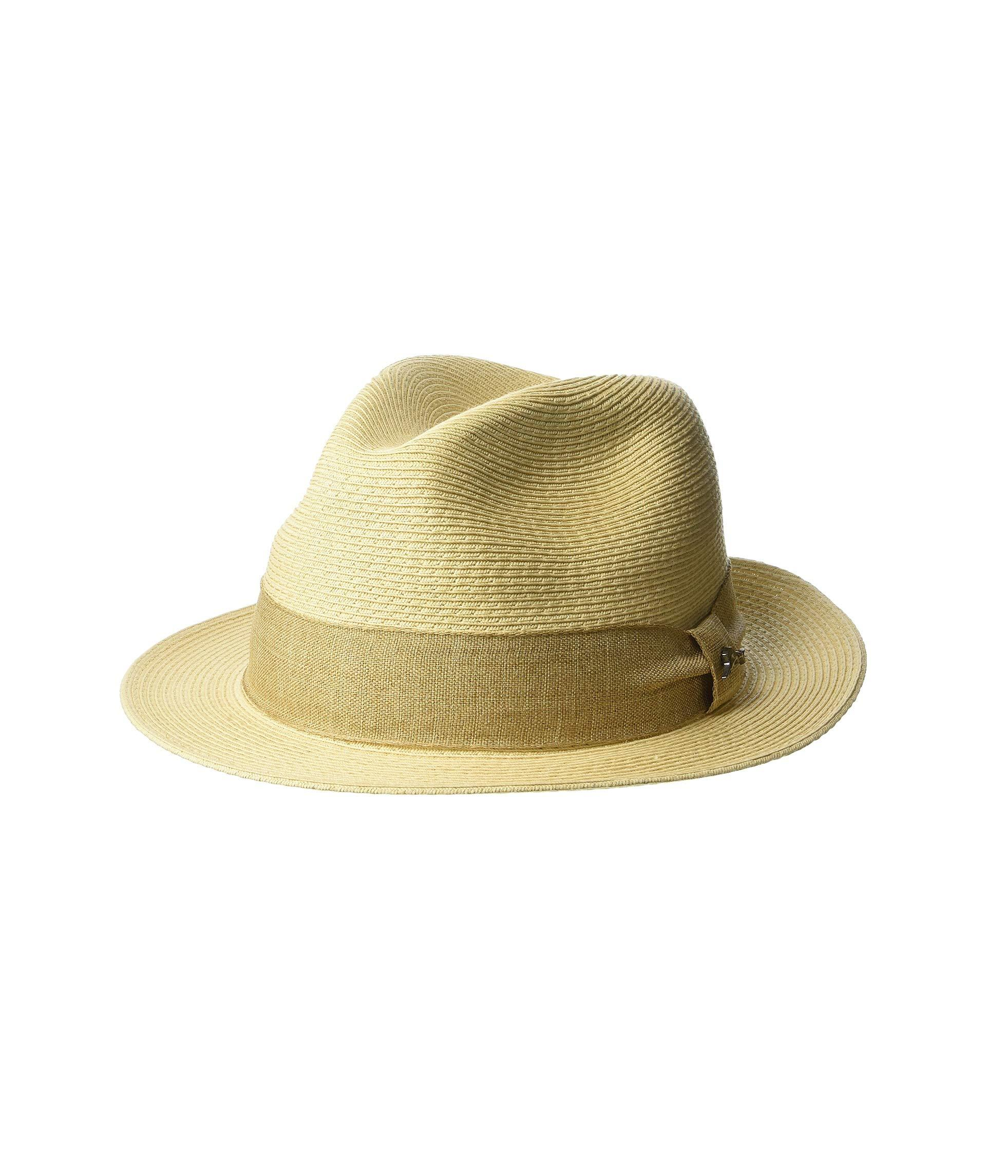 f652a5f48d74e Lyst - Tommy Bahama Fine Braid Toyo Fedora (natural 2) Caps in ...