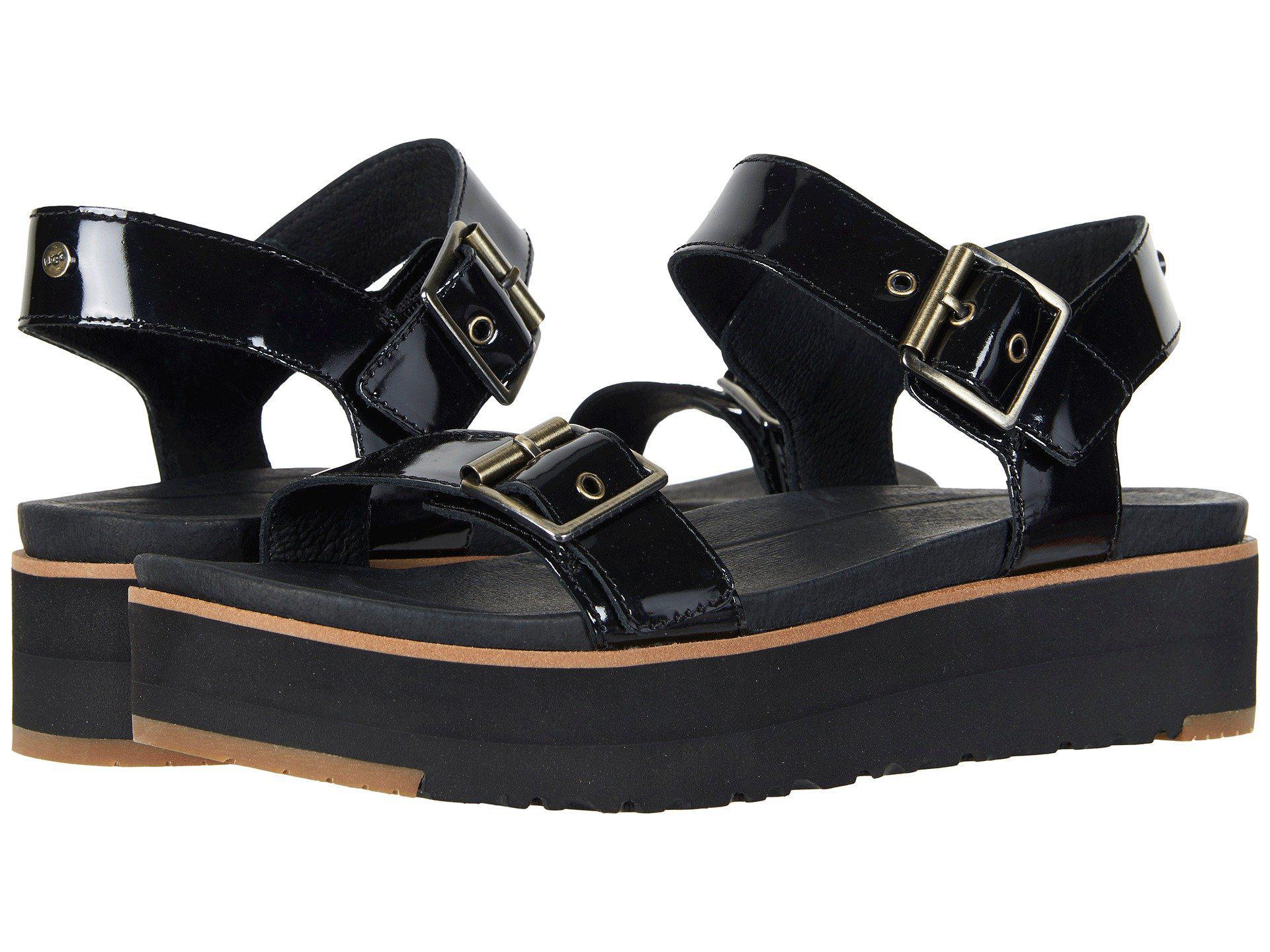 c822e789bb0 Ugg Angie (black) Women's Sandals