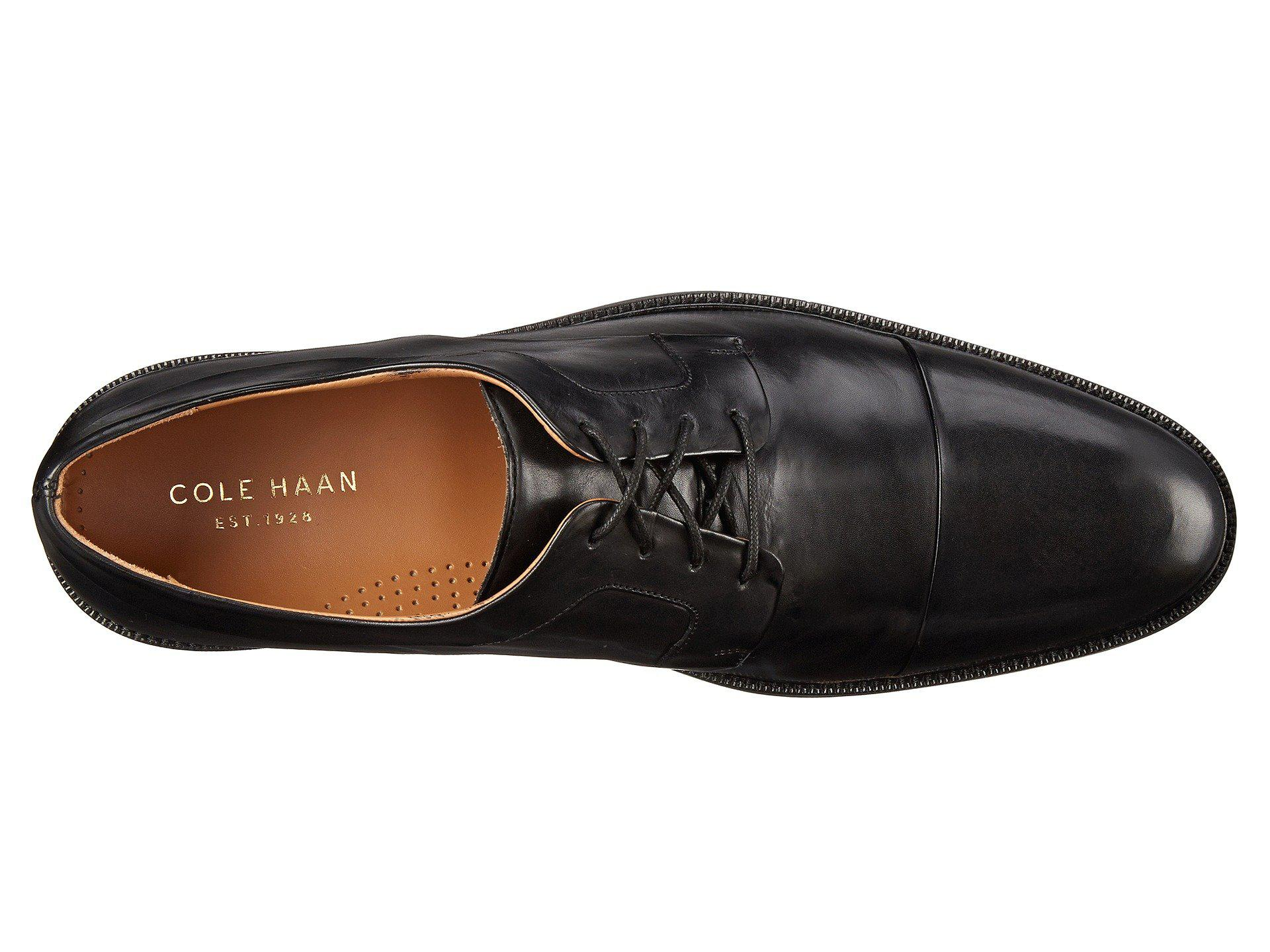 a98983070ca Cole Haan - Black Warren Cap Ox (british Tan) Men s Lace Up Cap Toe. View  fullscreen