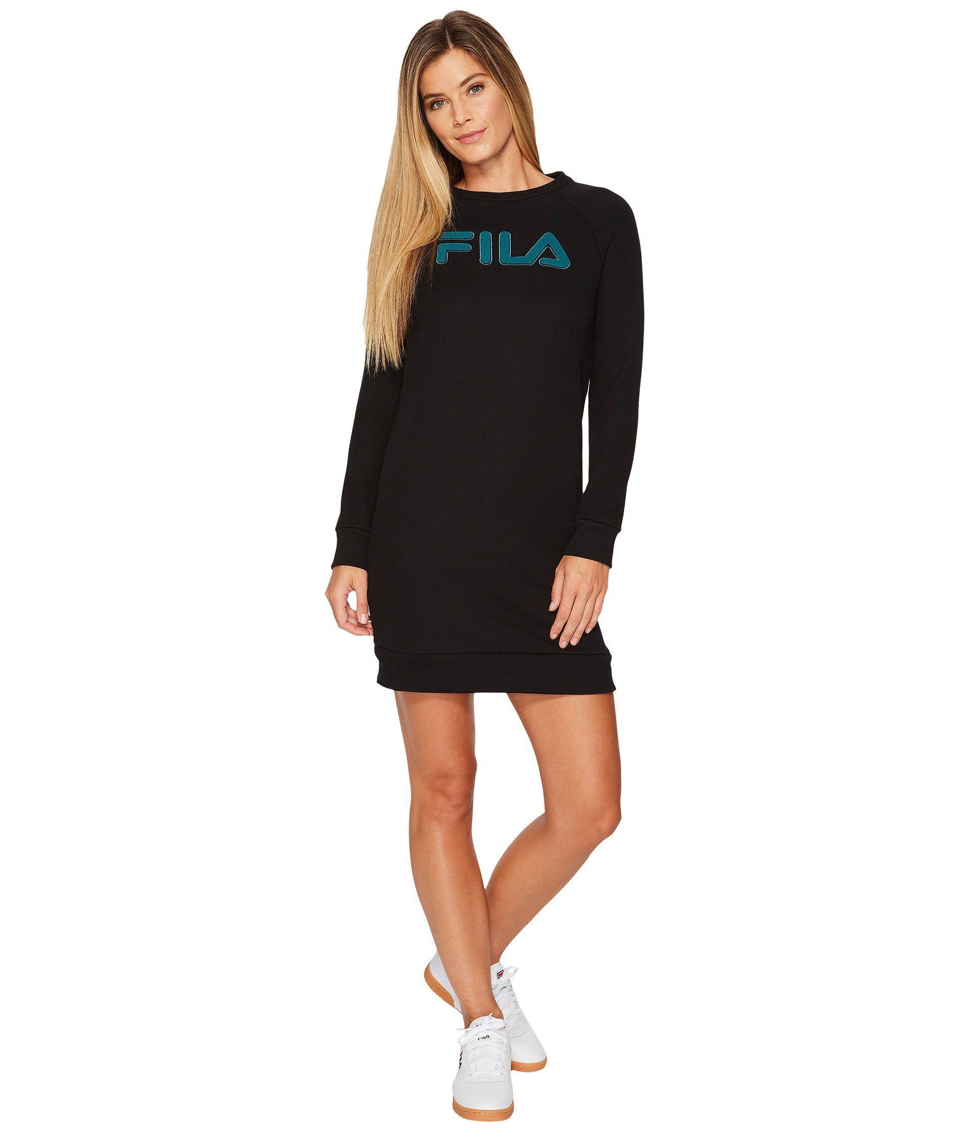 9eef741c80bb Lyst - Fila Courtney Dress (gray Heather black) Women s Dress in Black