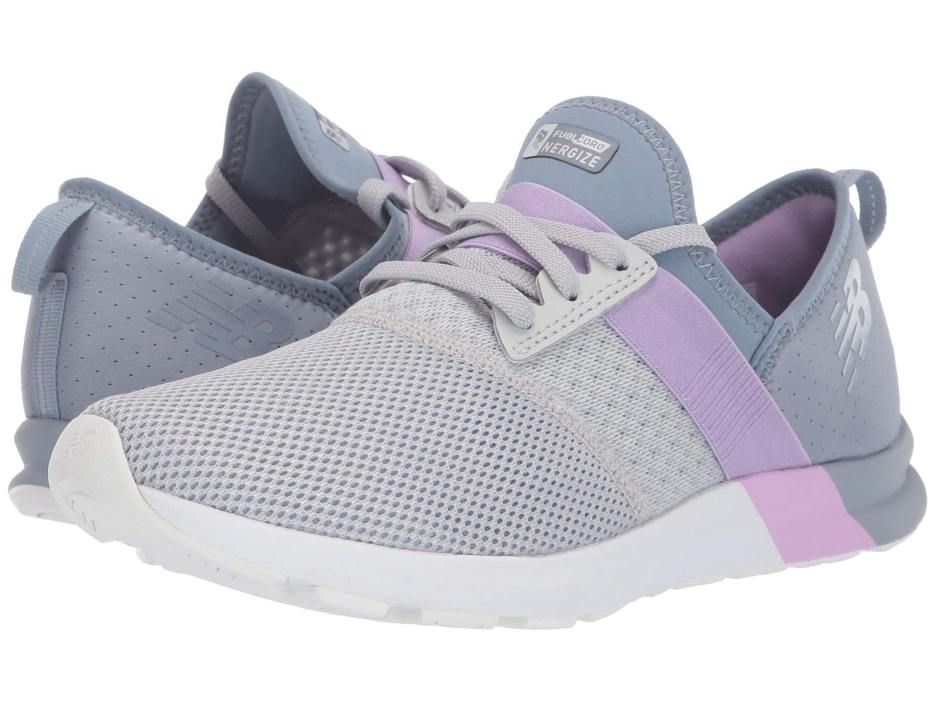 2a733ff0 Fuelcore Nergize (light Aluminum/reflection/dark Violet) Women's Cross  Training Shoes