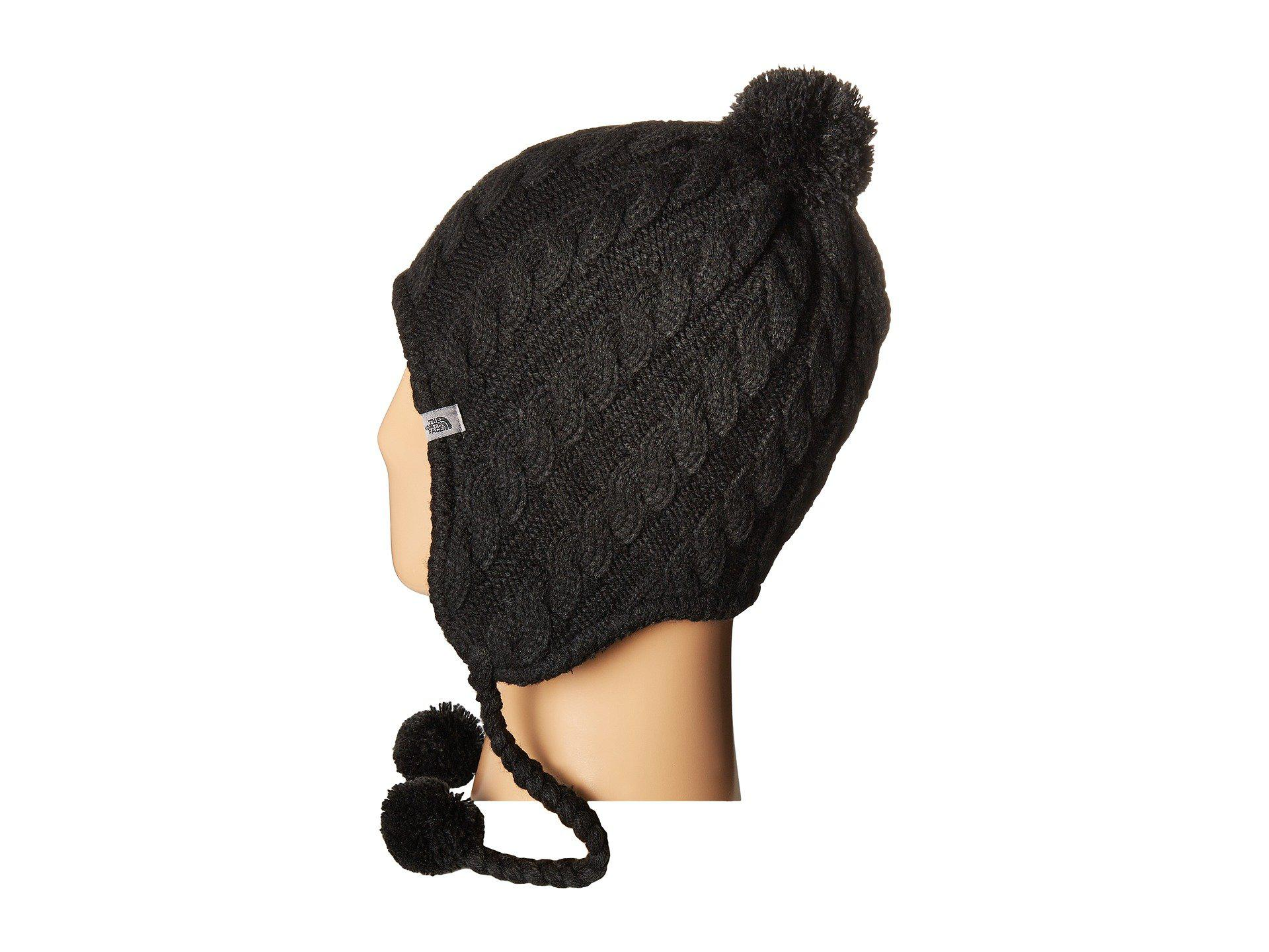 ea6b3c749 The North Face Black Fuzzy Earflap Beanie for men