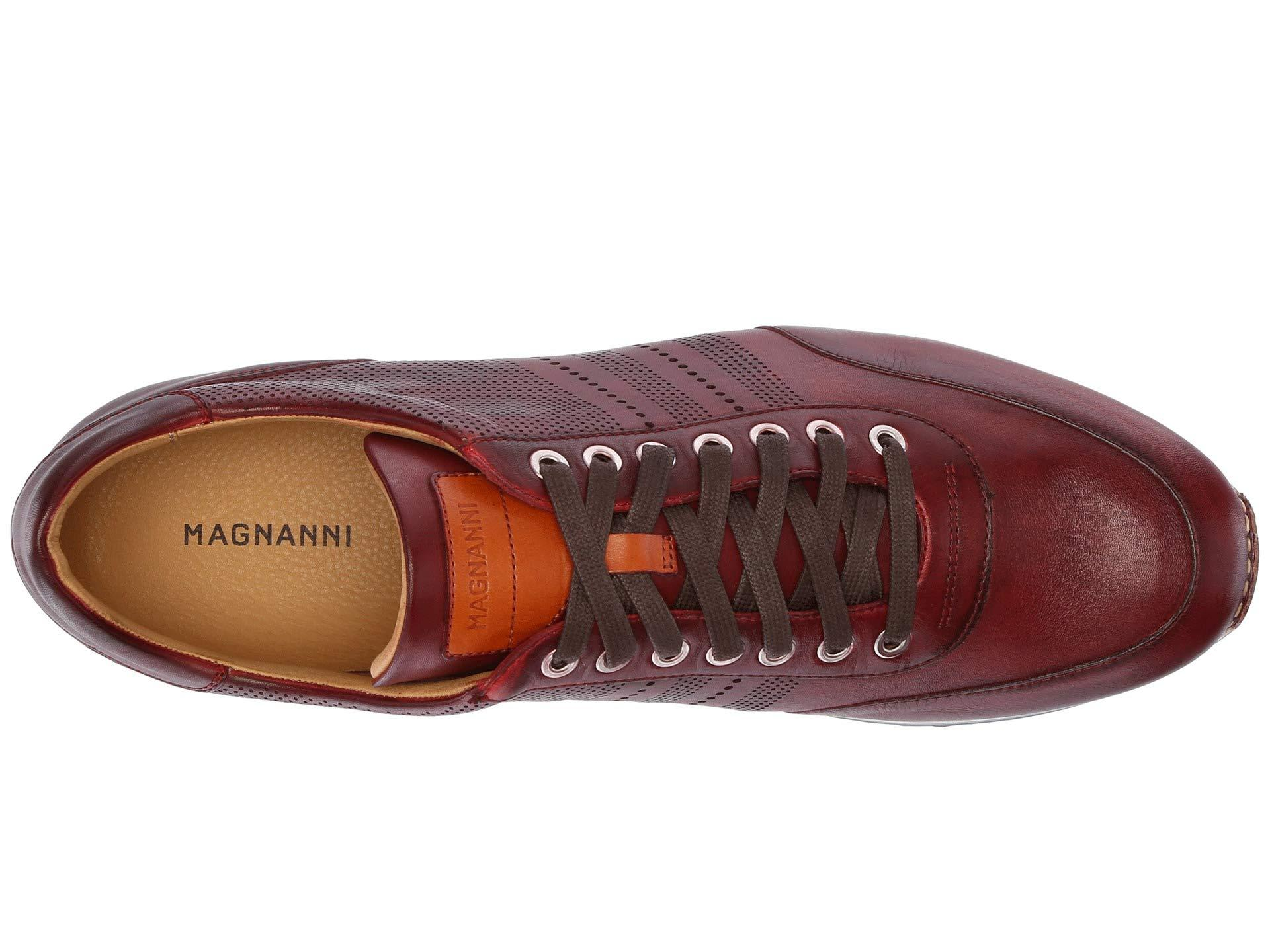 Magnanni Leather Merino Tinto in Red
