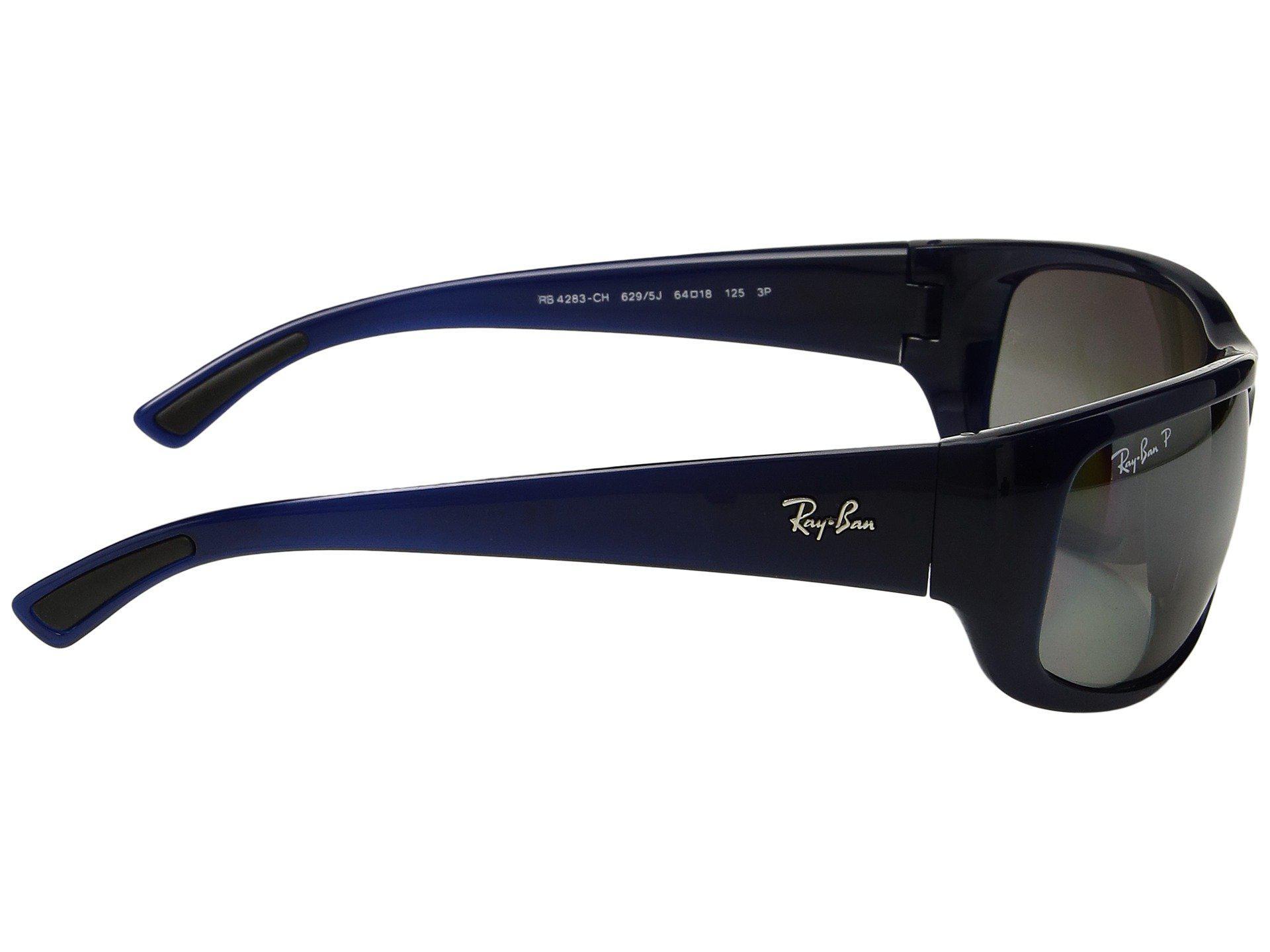 3a713cbf5a Ray-Ban - Rb4283ch 64mm (blue polarized Silver Mirror Chromance) Fashion  Sunglasses. View fullscreen