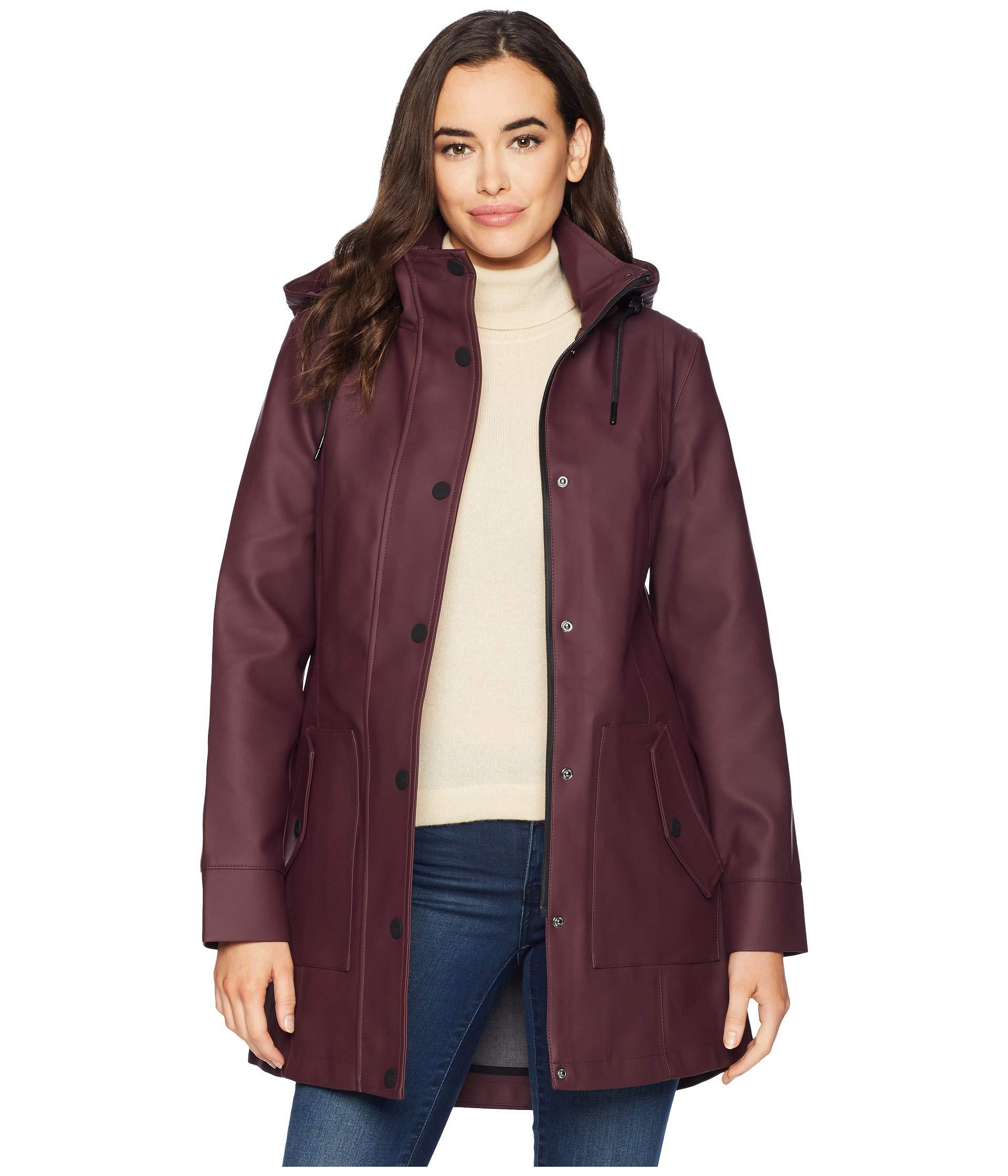 325fa8a2c3e1 Lyst - UGG Rain Jacket (port) Women s Coat in Purple
