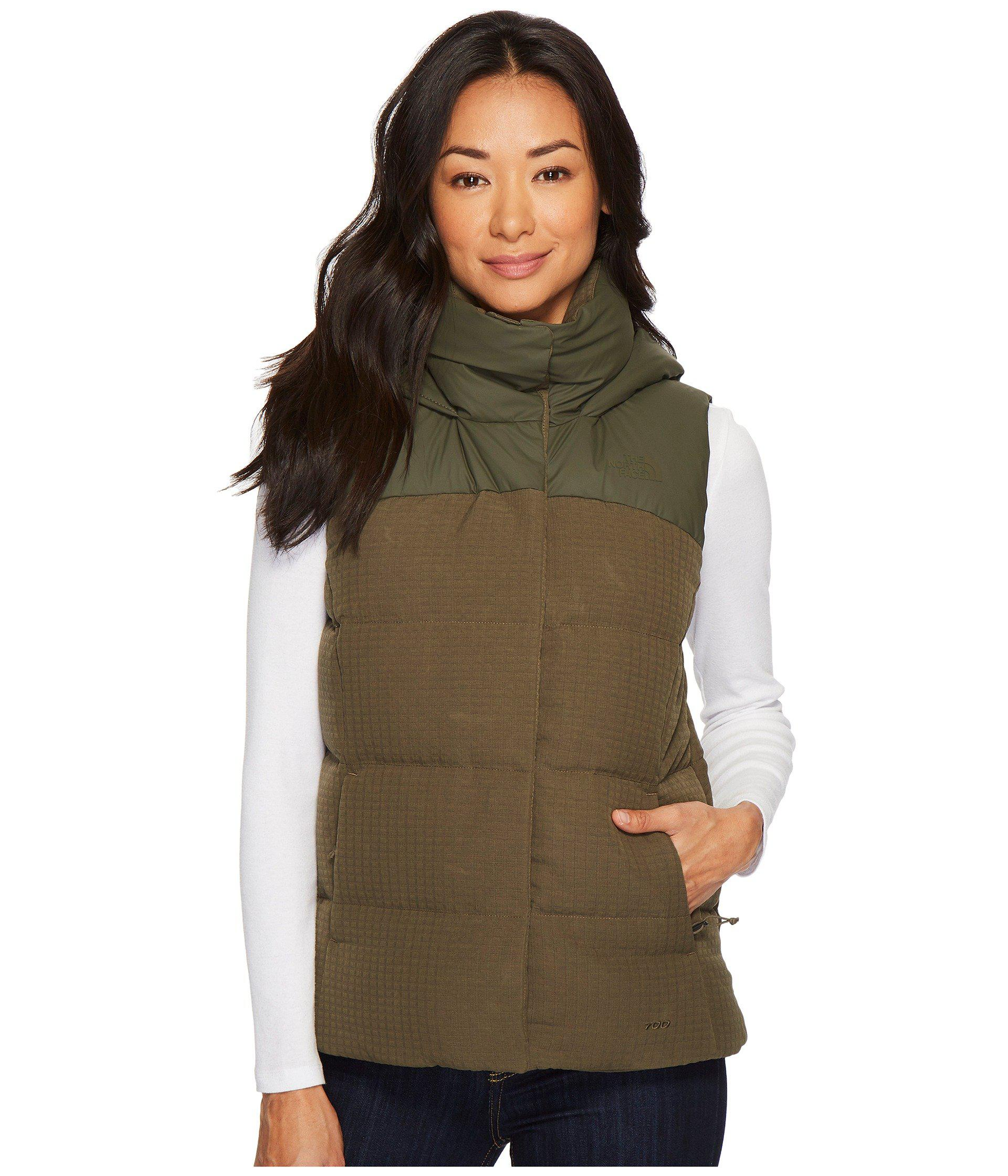7c979d518 Women's Green Novelty Nuptse Vest