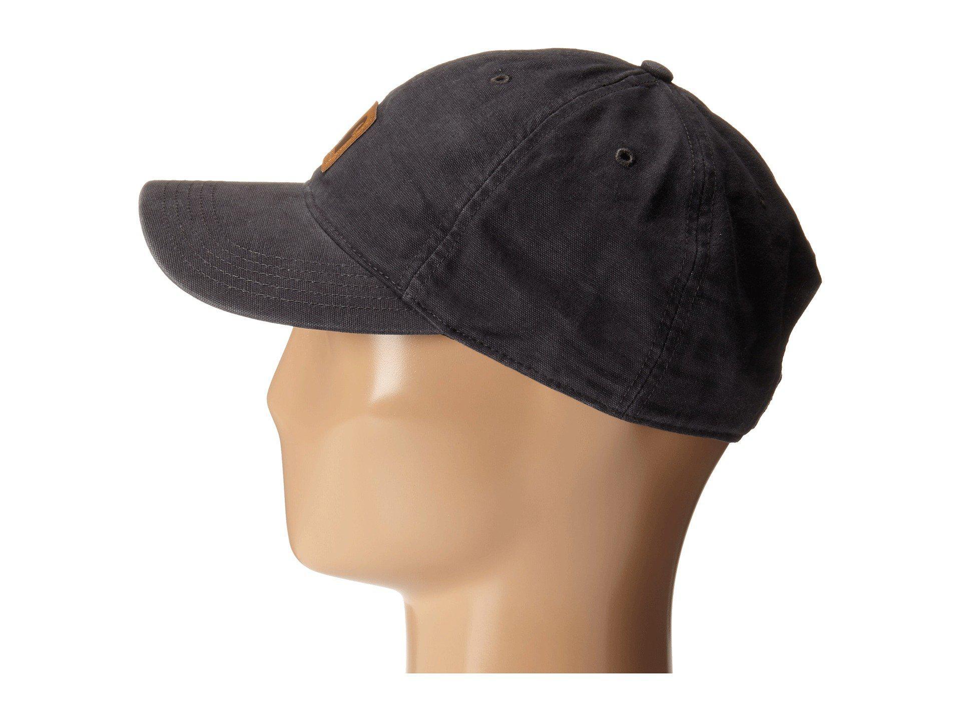 Lyst - Carhartt Odessa Cap (black) Baseball Caps in Black for Men fab8eb2bedb9