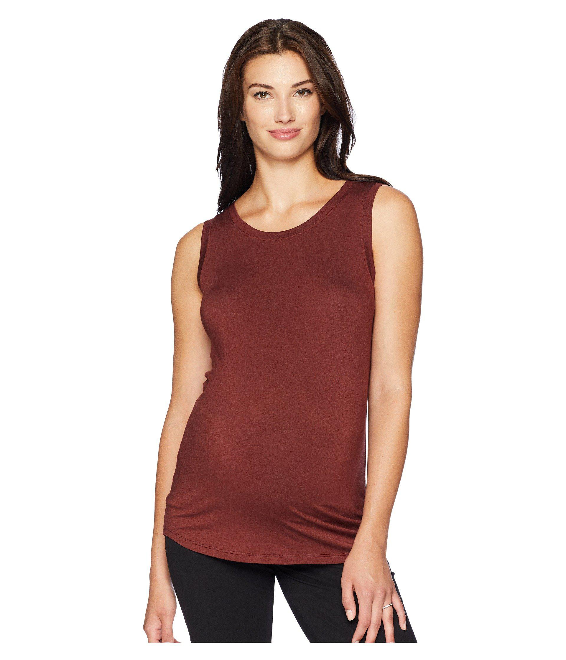 74db1443630d8 Beyond Yoga. Red Maternity Balanced Muscle Tank Top (black) Women's  Sleeveless