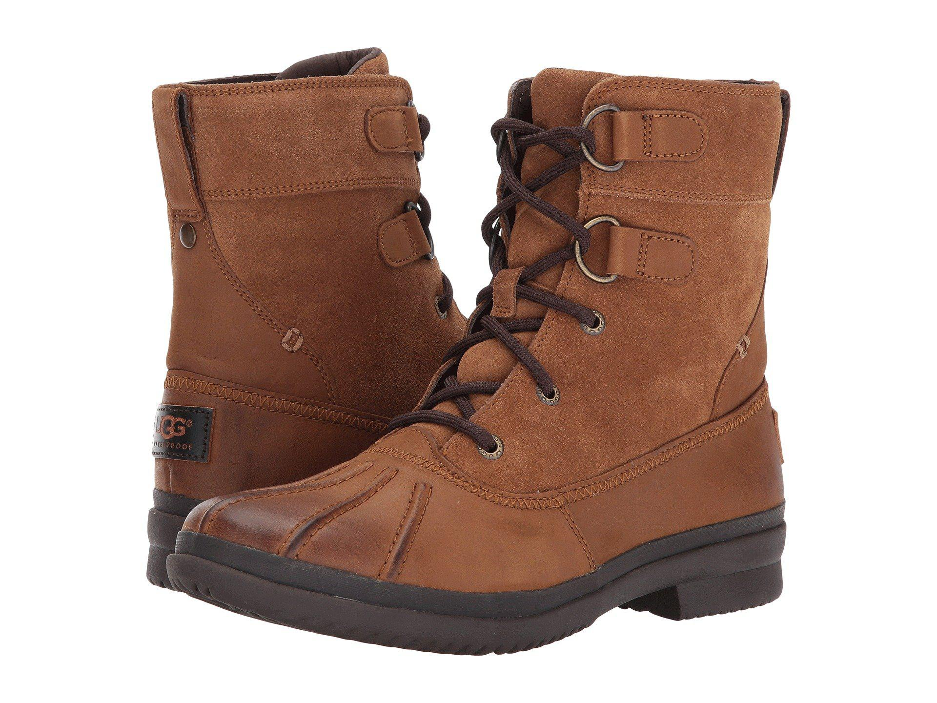 b23cf826b7f Lyst - UGG Azaria (chestnut) Women's Boots in Brown