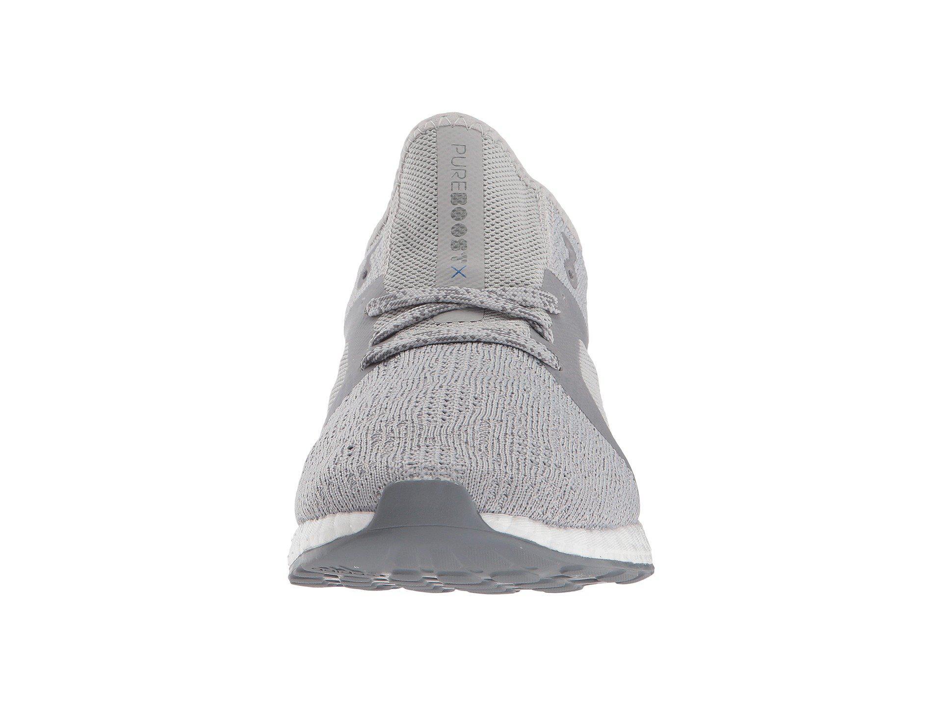 29eefcb7eac64 Lyst - adidas Originals Pureboost X Element (grey Five core Black ...