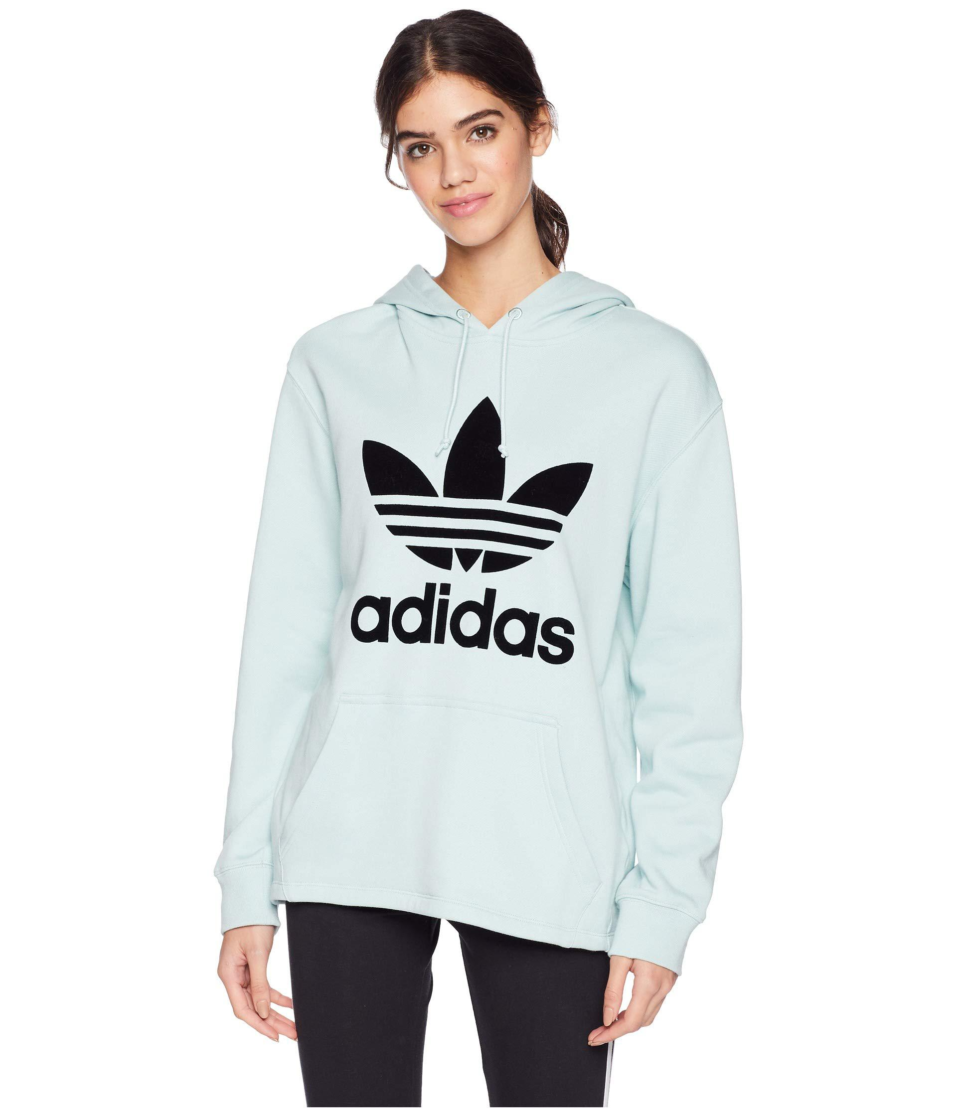 11ad4bf6 adidas Originals Fashion League Hooded Sweater (ash Green) Women's ...