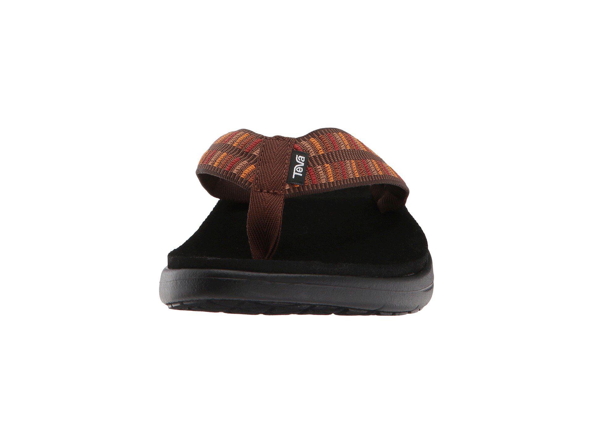 ccb88a485f216 Teva - Multicolor Voya Flip (zook Black) Men s Sandals for Men - Lyst. View  fullscreen