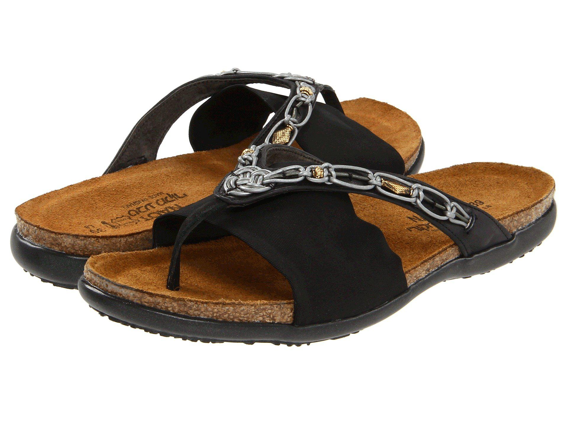 f1cd77b2f115 Naot. Black Jennifer (polar Sea Leather navy Stretch) Women s Sandals