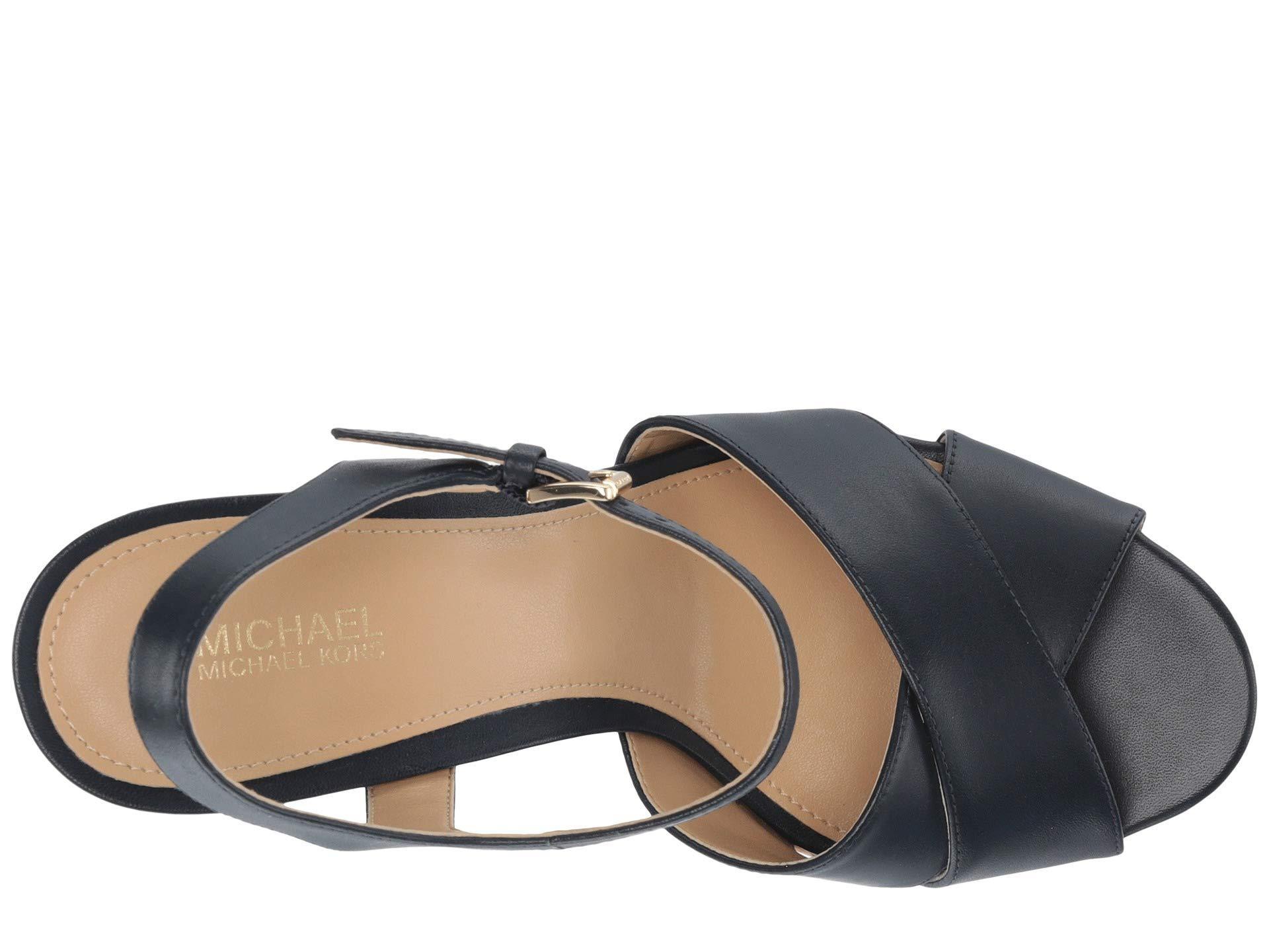 a7ec9ec66bbc MICHAEL Michael Kors - Multicolor Alexia Platform (olive Vachetta cork) Women s  Shoes -. View fullscreen
