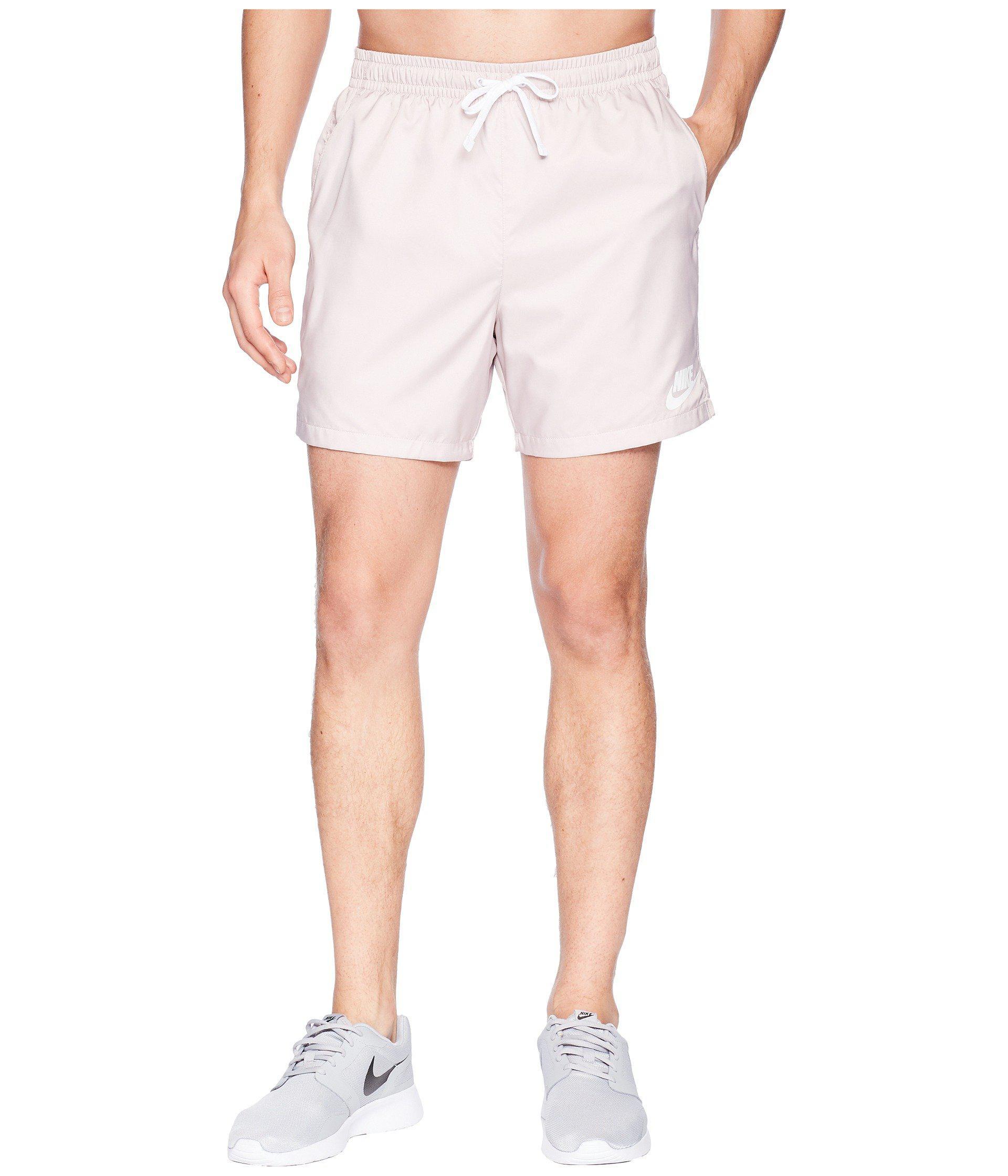 3f5615c360c2b Nike Woven Flow Short (blue Nebula/white/white) Men's Shorts in ...