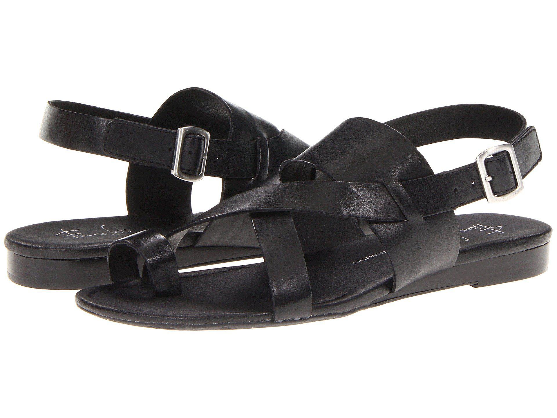eaf7e4b20f4 Lyst - Franco Sarto Gia By Sarto (adobe Rose) Women s Sandals in Black