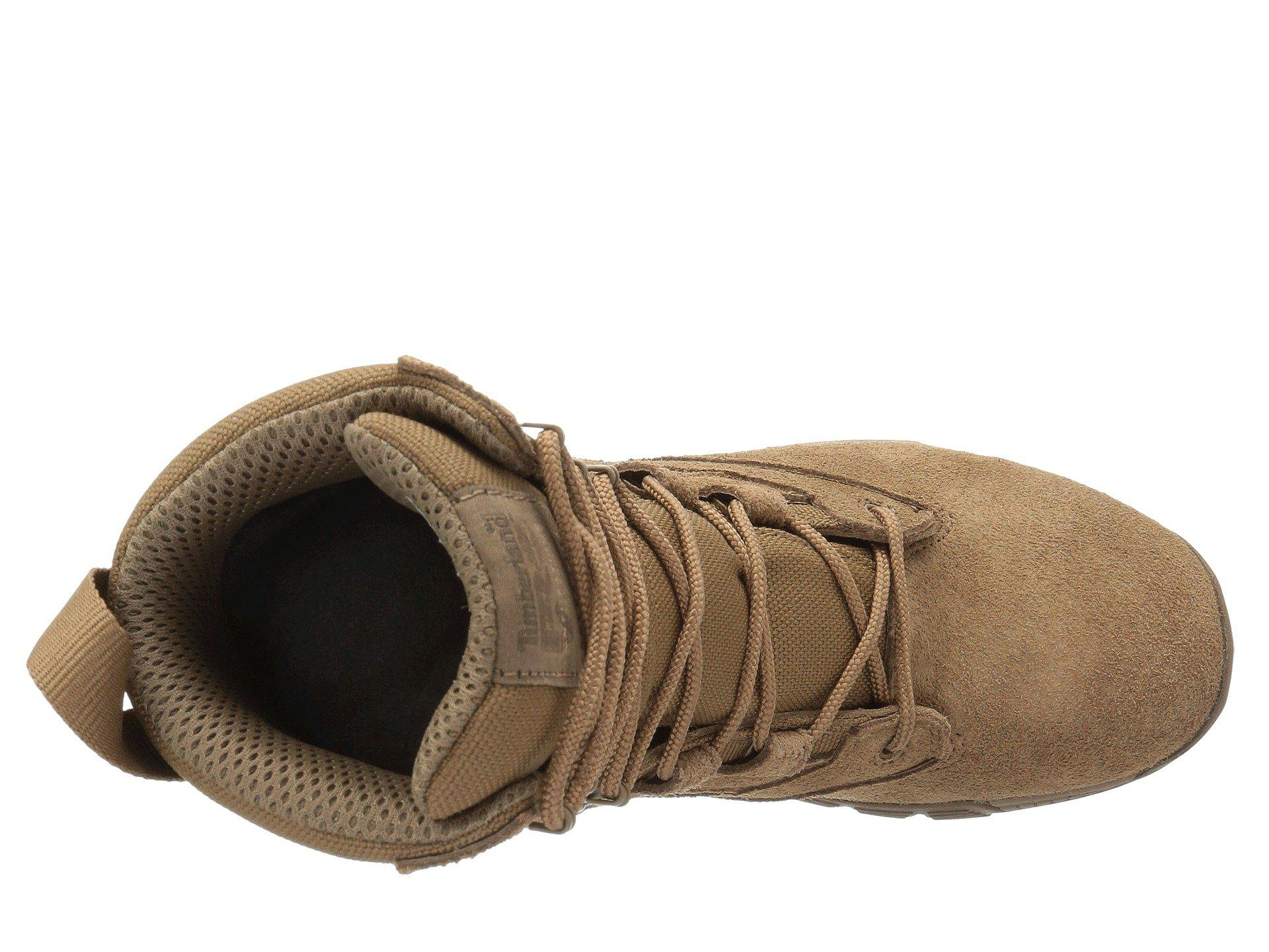 8a035001fcb6 Lyst - Timberland Valor 8 Duty Soft Toe (coyote Flesh Out Leather ...